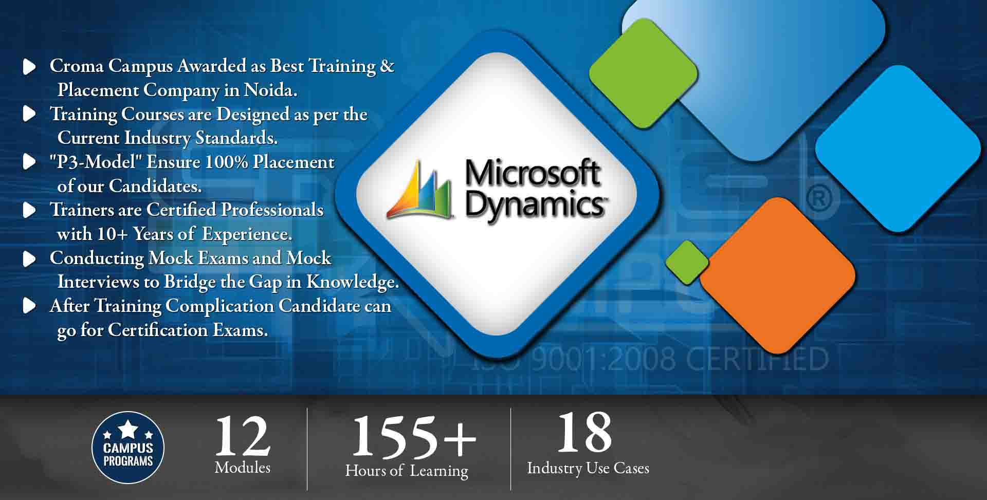 Microsoft Dynamics Training in Noida- Croma Campus