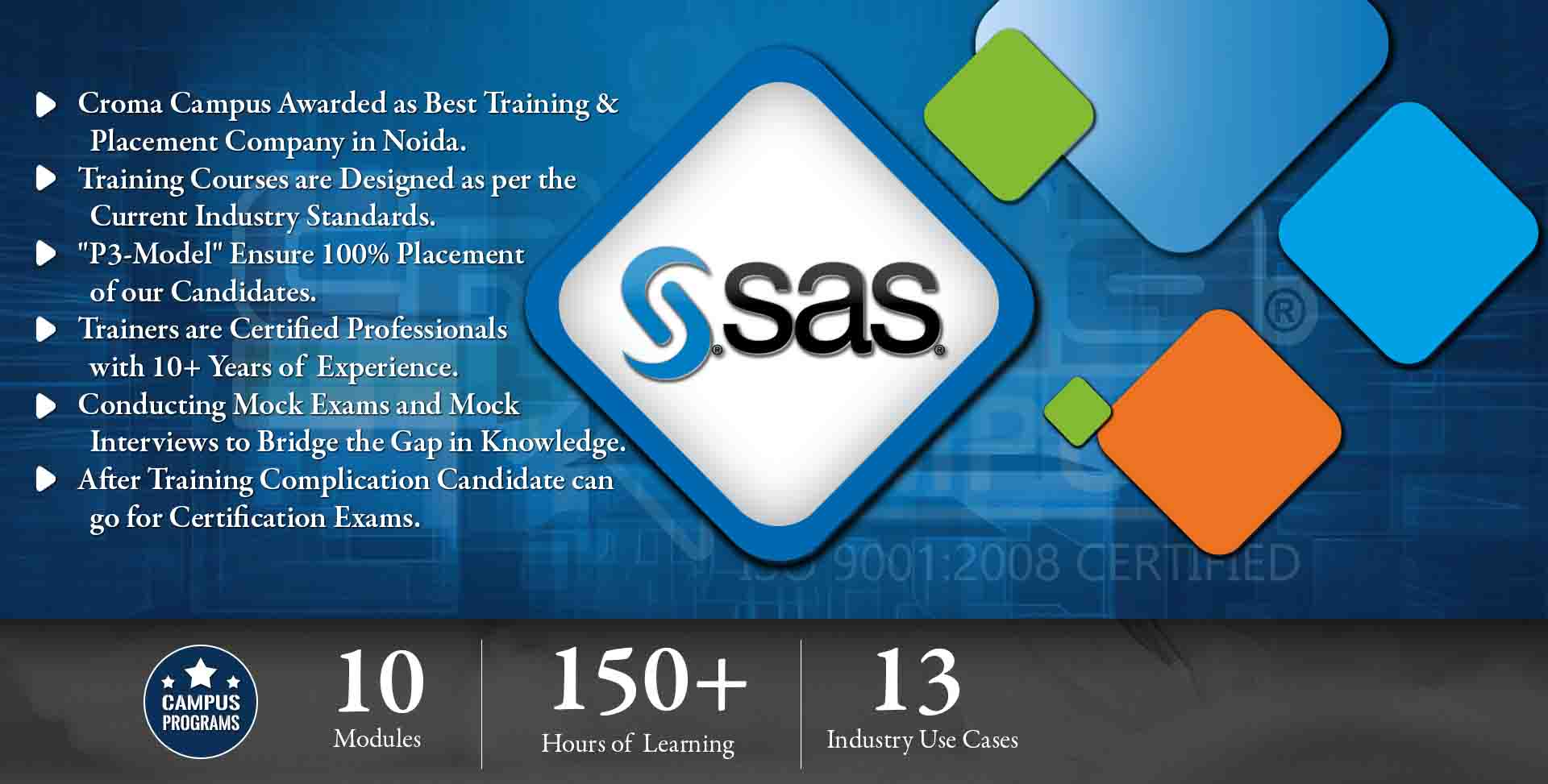 SAS Training in Delhi - Croma Campus