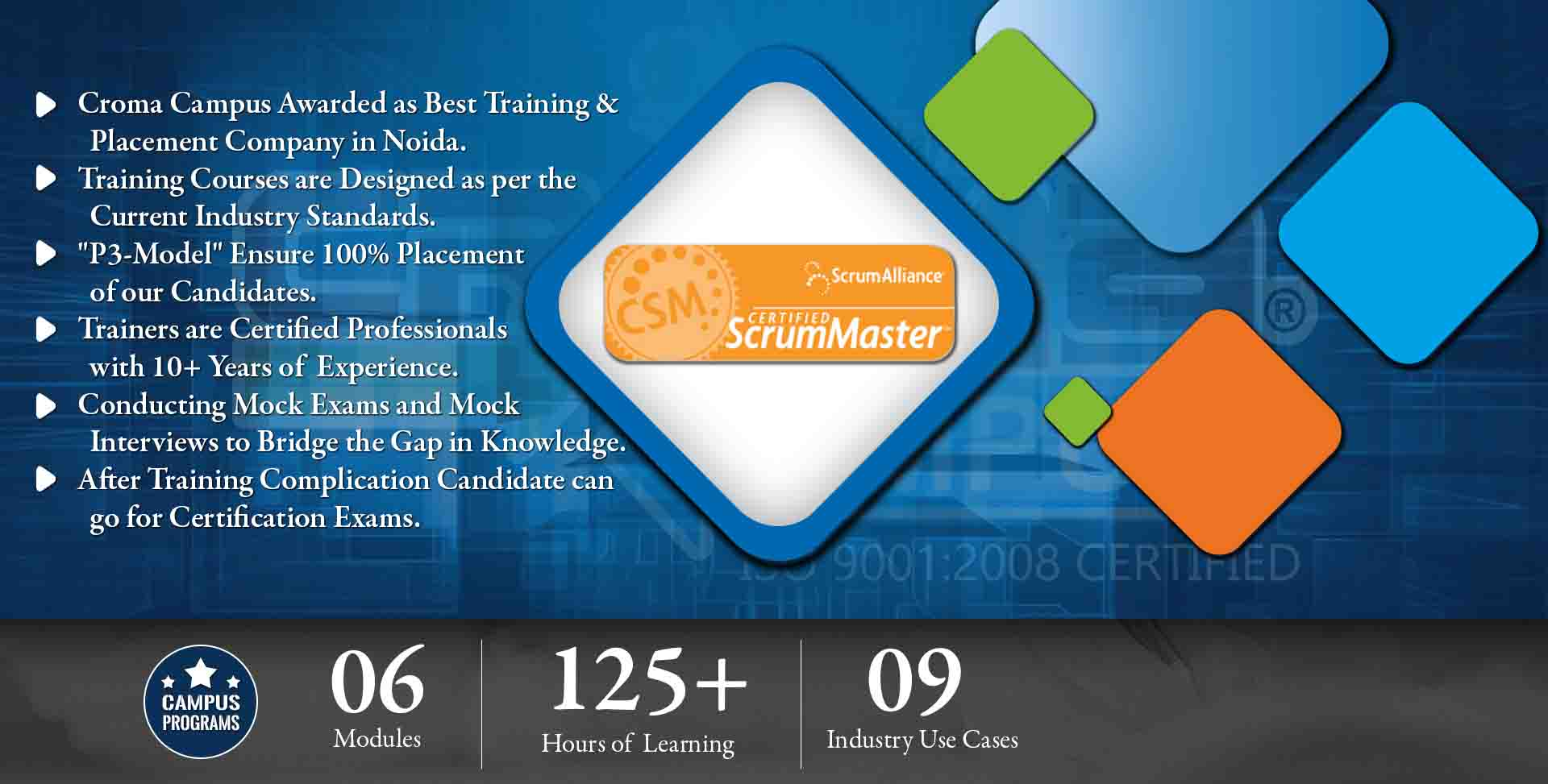 Certified Scrum Master Training In Noida Certified Scrum Master