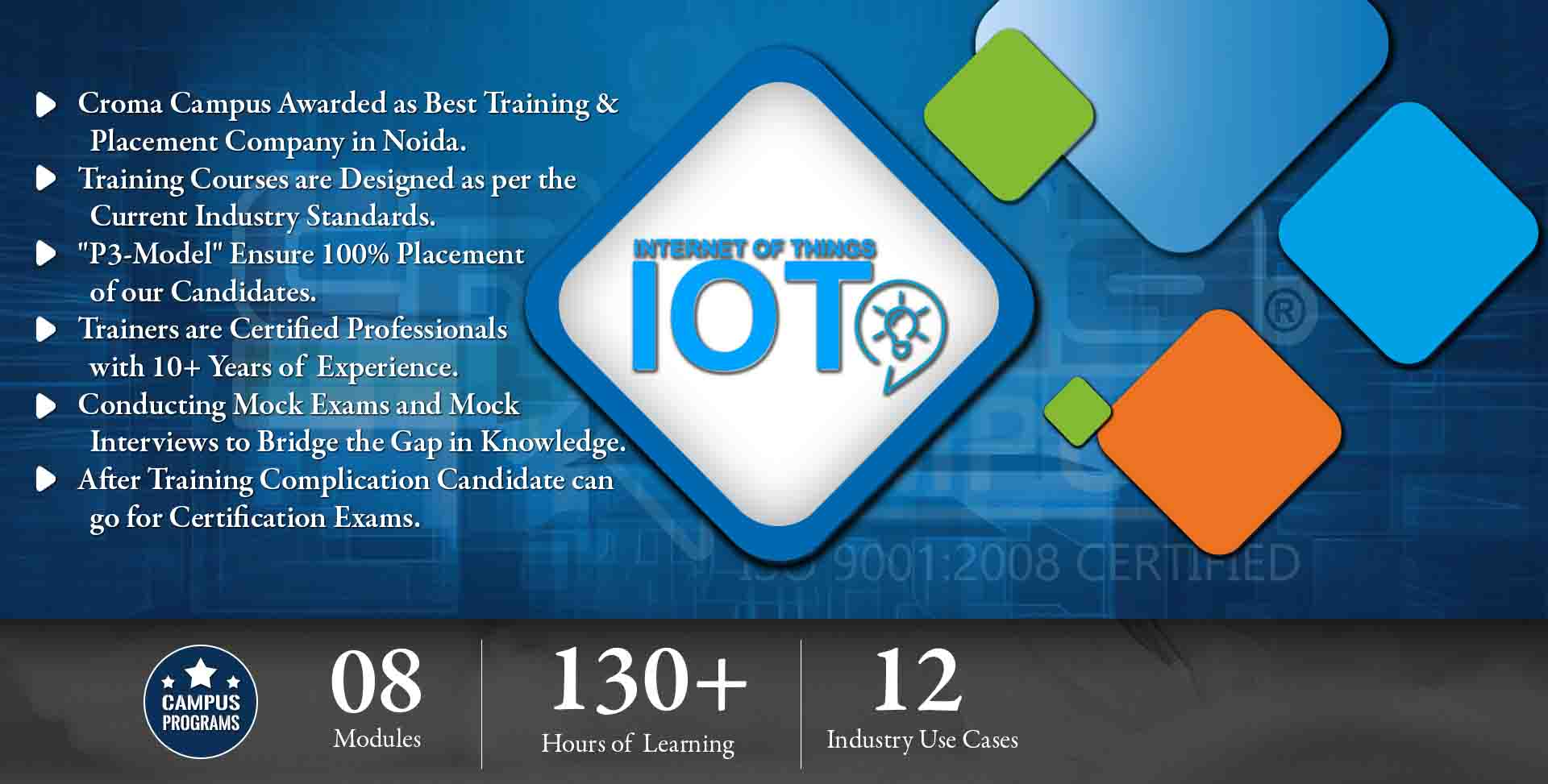 IOT Training in Delhi NCR- Croma Campus
