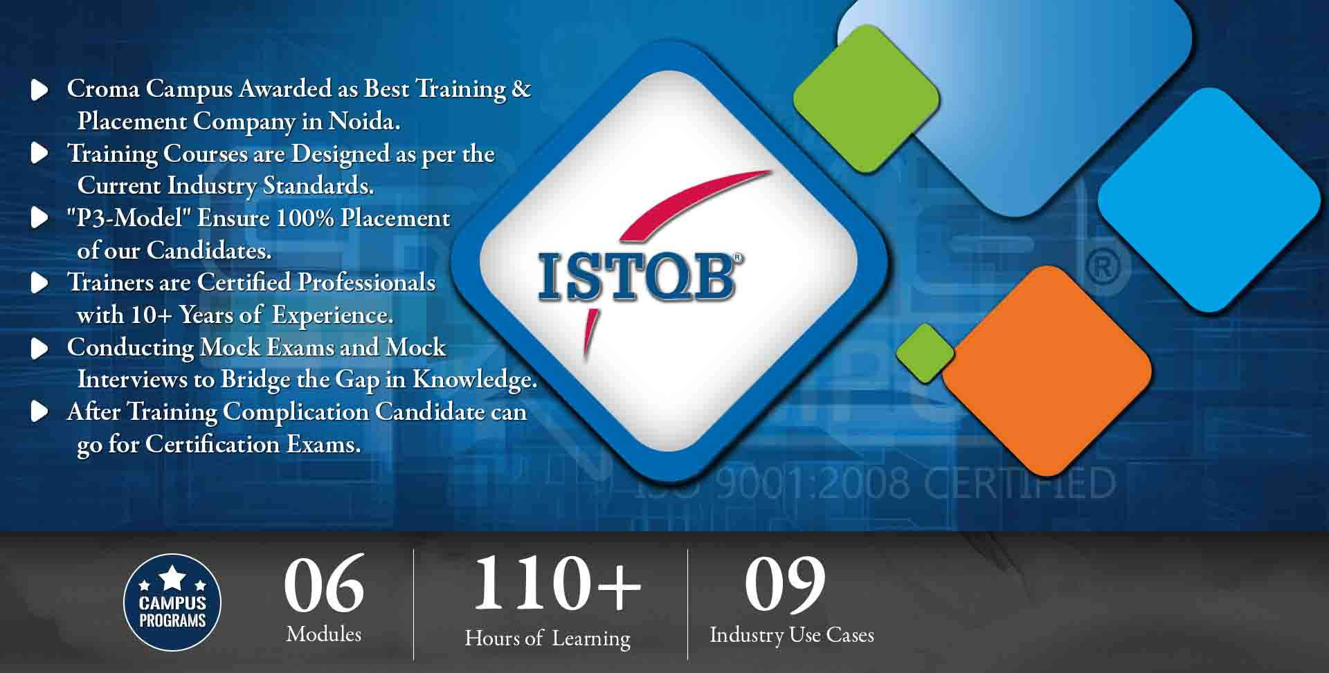 ISTQB Training in Delhi NCR- Croma Campus