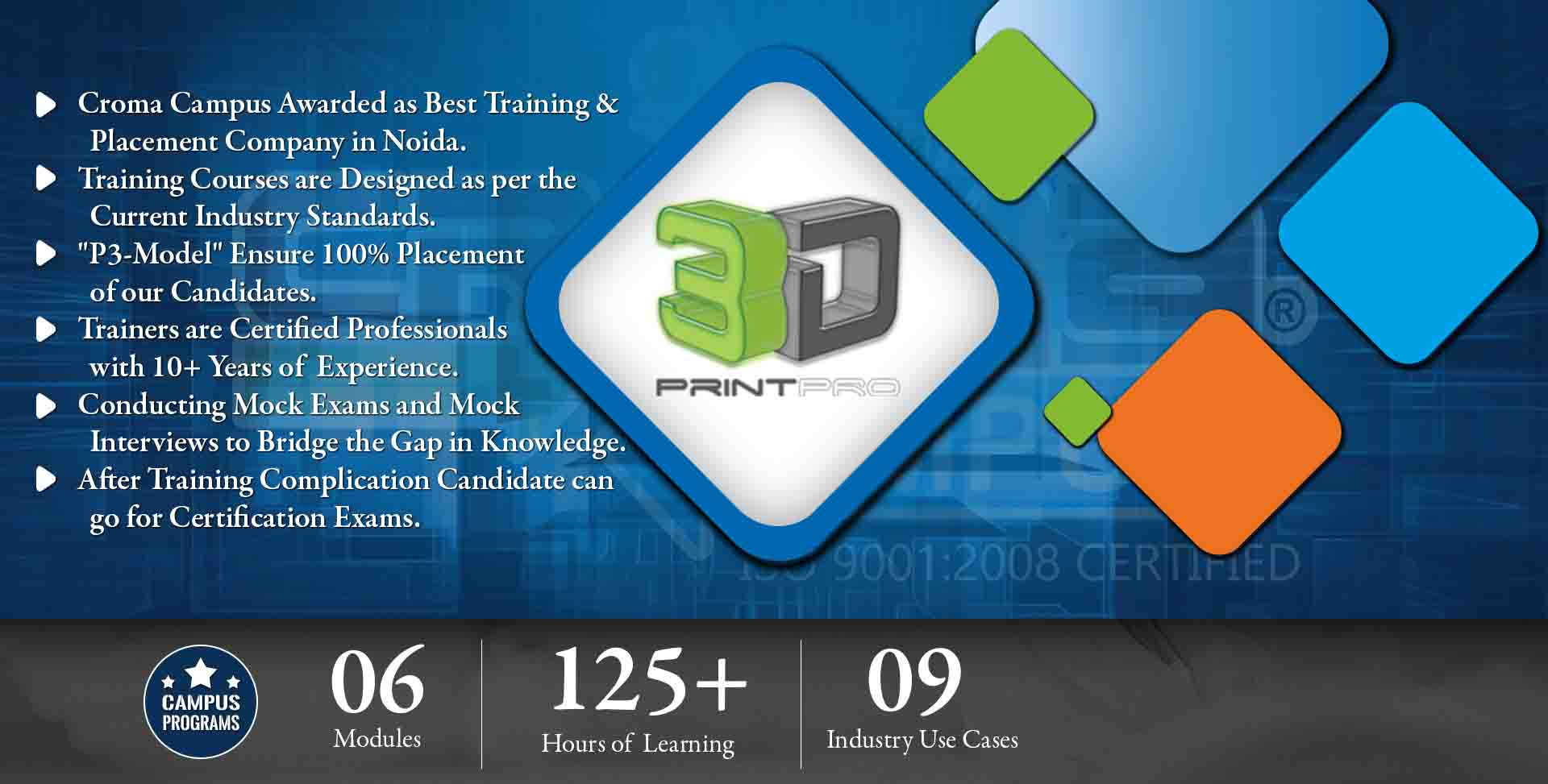 3D Printing Training in Gurgaon- Croma Campus