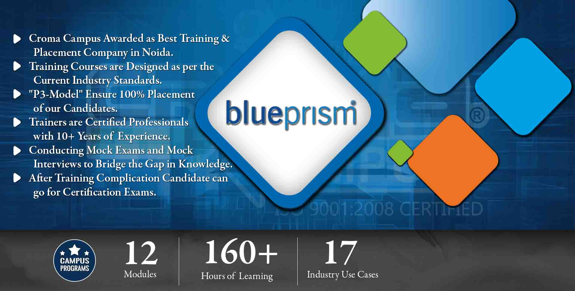 Blue Prism Training in Gurgaon- Croma Campus