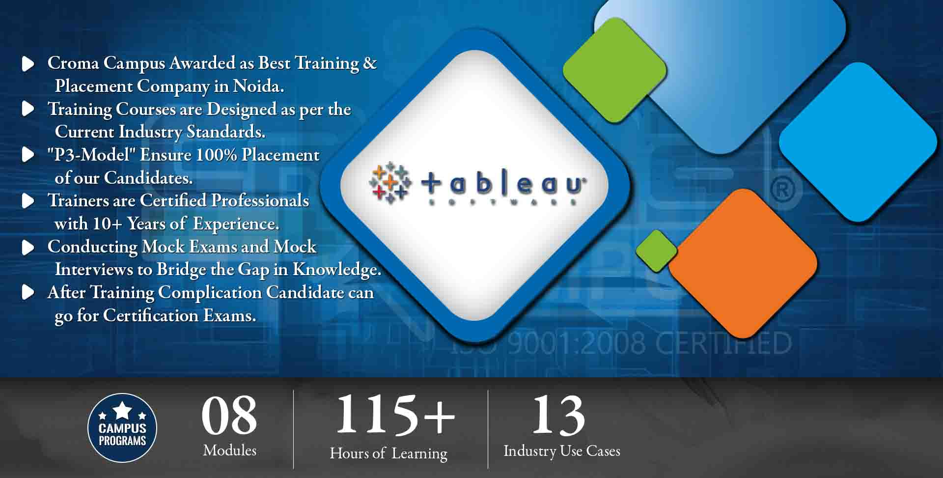 Tableau Training in Delhi NCR- Croma Campus