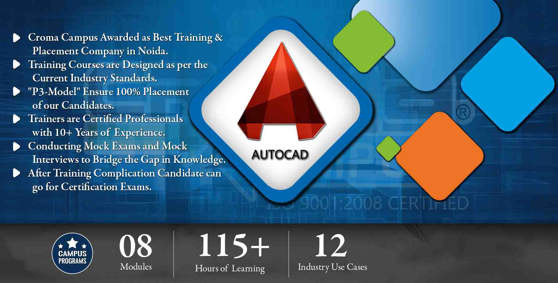 Autocad Training in Gurgaon- Croma Campus