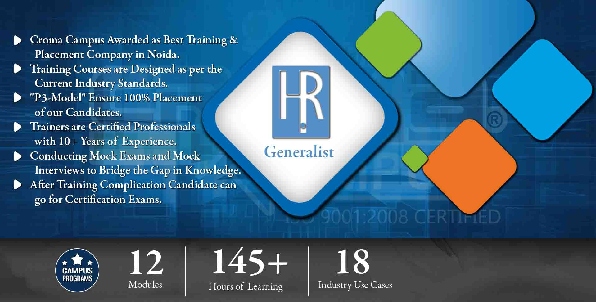 HR Generalist Training in Noida- Croma Campus