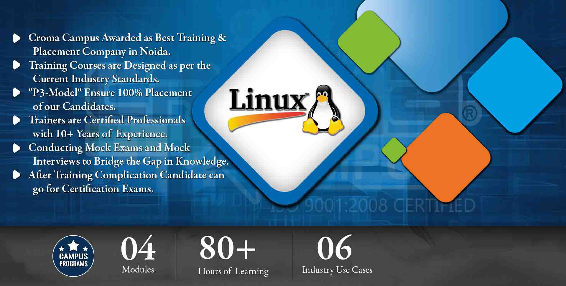 Linux Training in Gurgaon- Croma Campus
