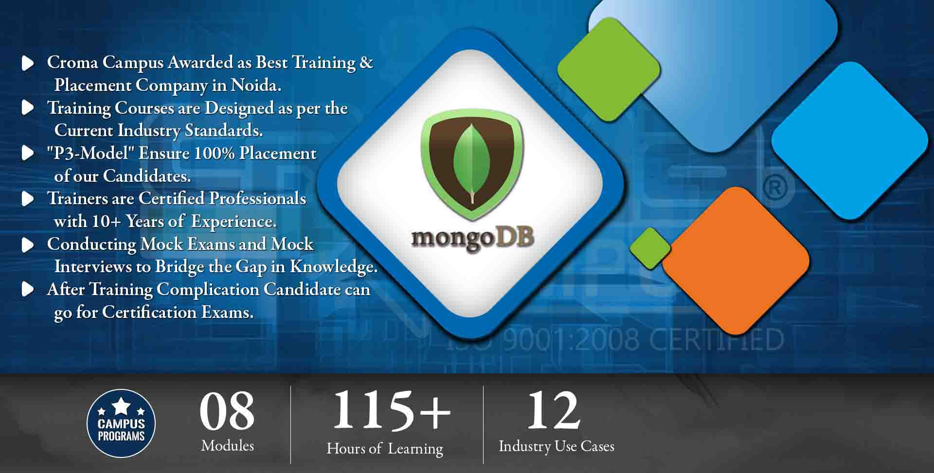 MongoDB Training in Gurgaon- Croma Campus