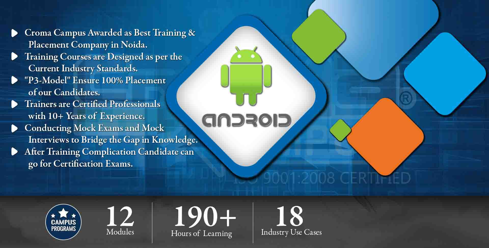 Android Training in Gurgaon- Croma Campus