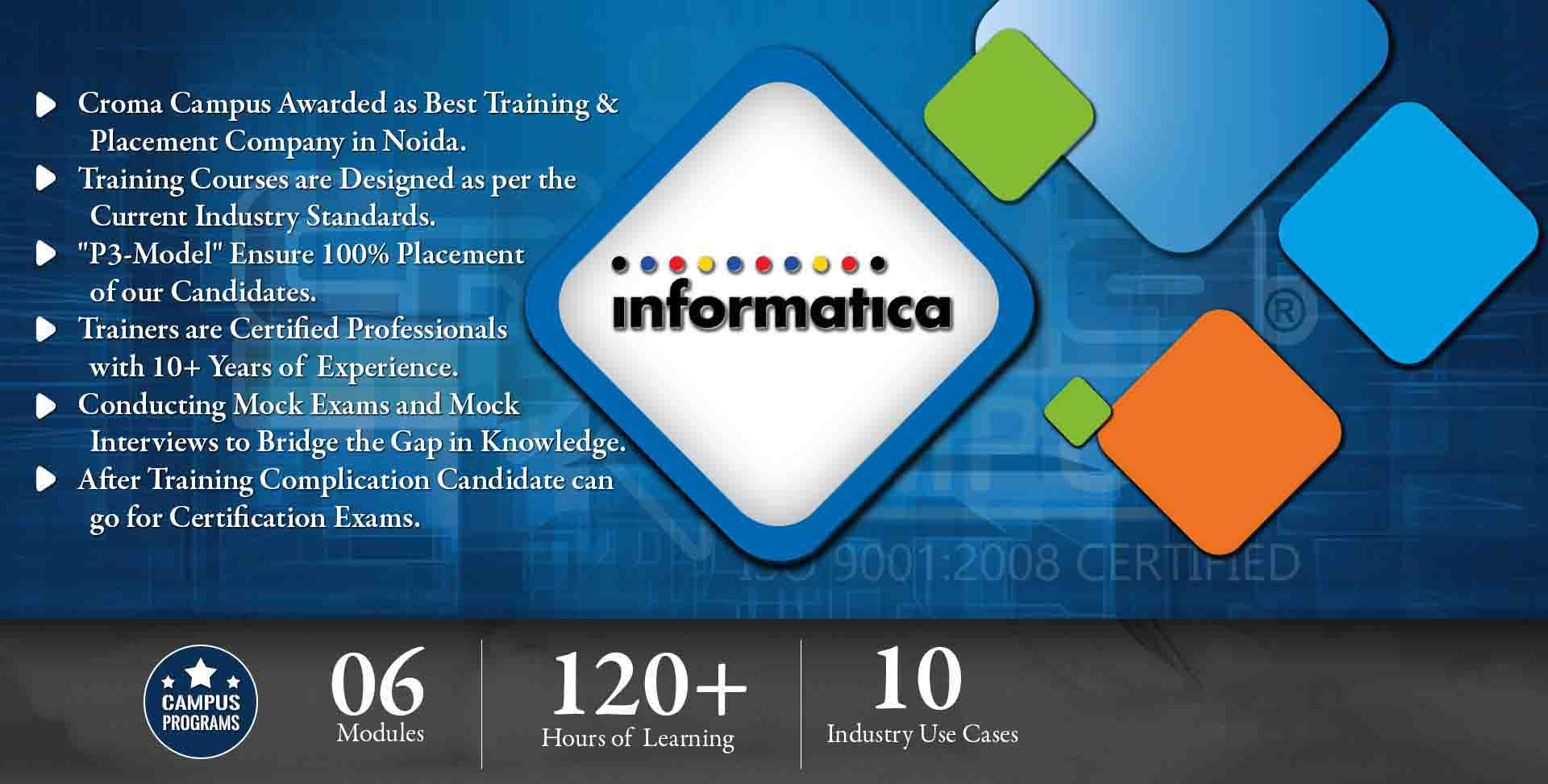 Informatica Training in Delhi NCR- Croma Campus