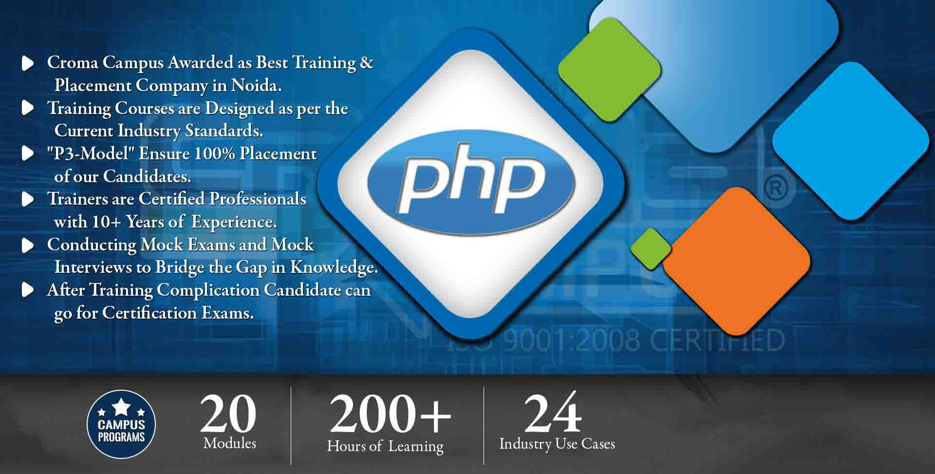 PHP Training in Delhi NCR- Croma Campus