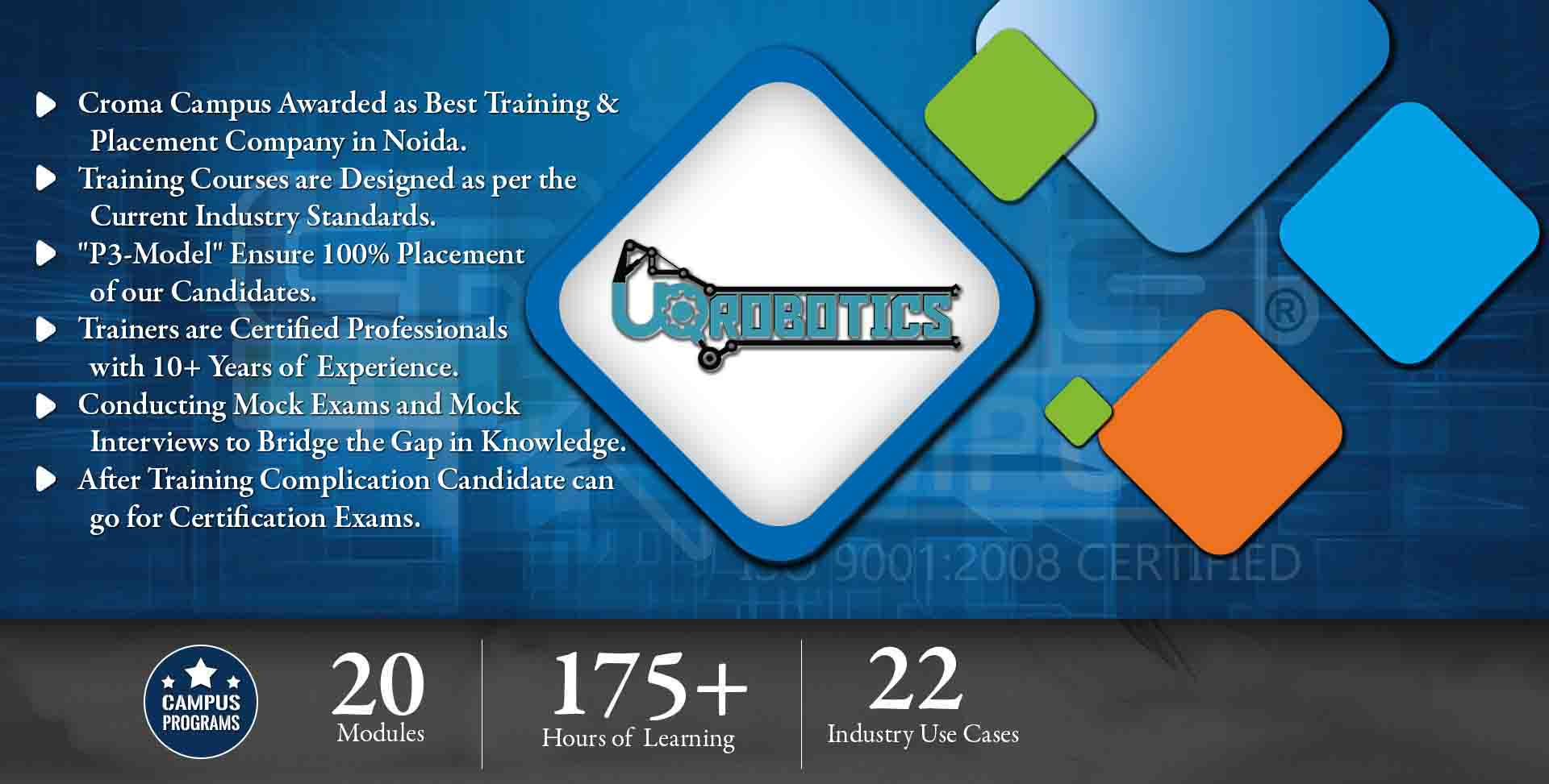 Robotics Training in Noida- Croma Campus
