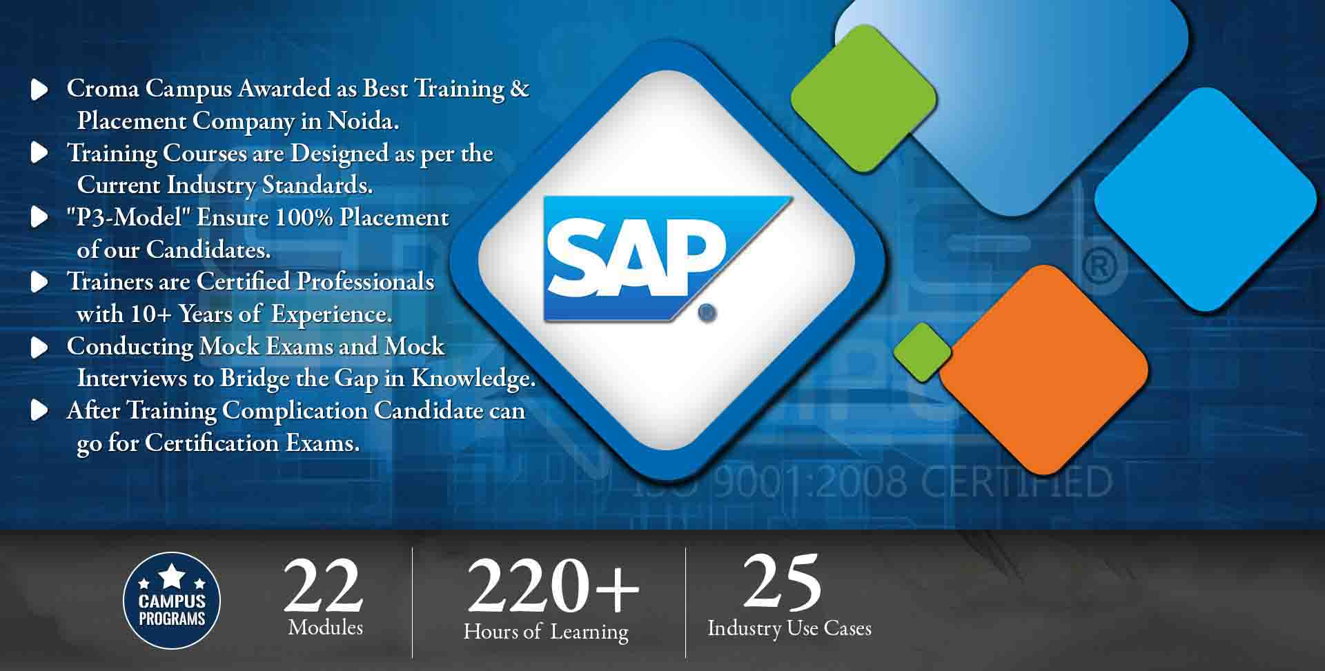 SAP / ERP Training in Delhi NCR- Croma Campus
