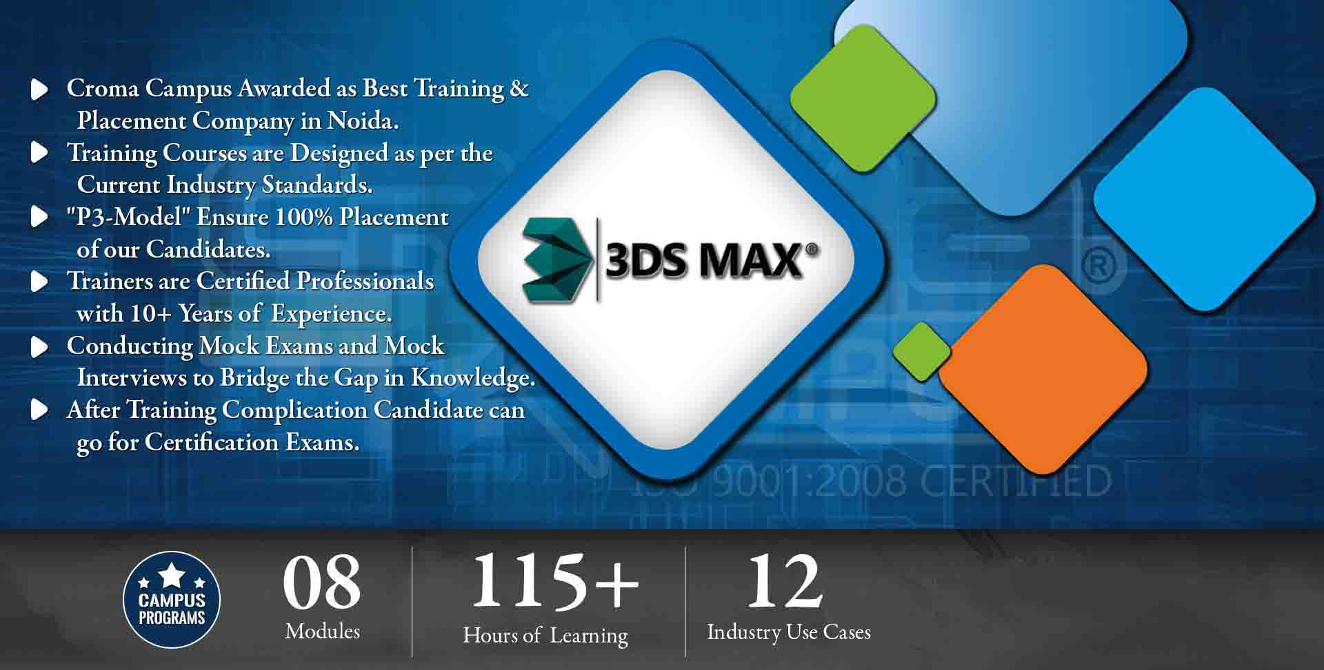 3ds Max Training in Delhi NCR- Croma Campus