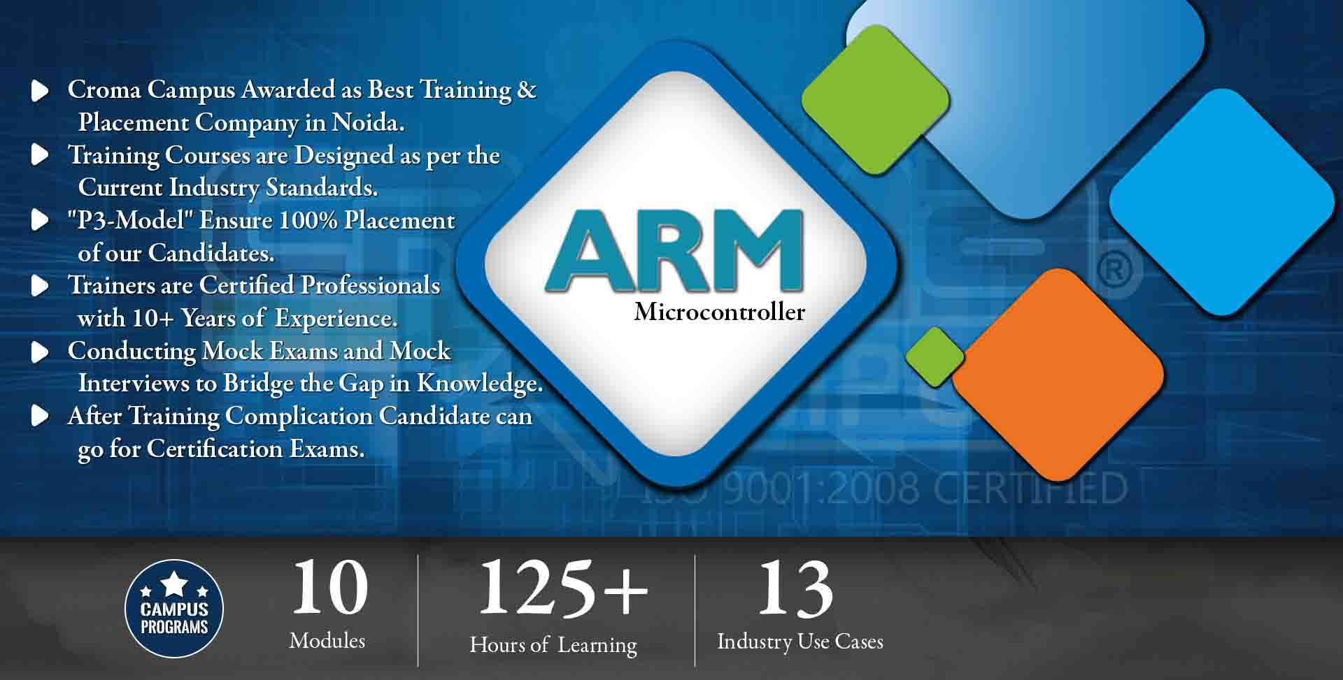 ARM Microcontroller Training in Noida- Croma Campus
