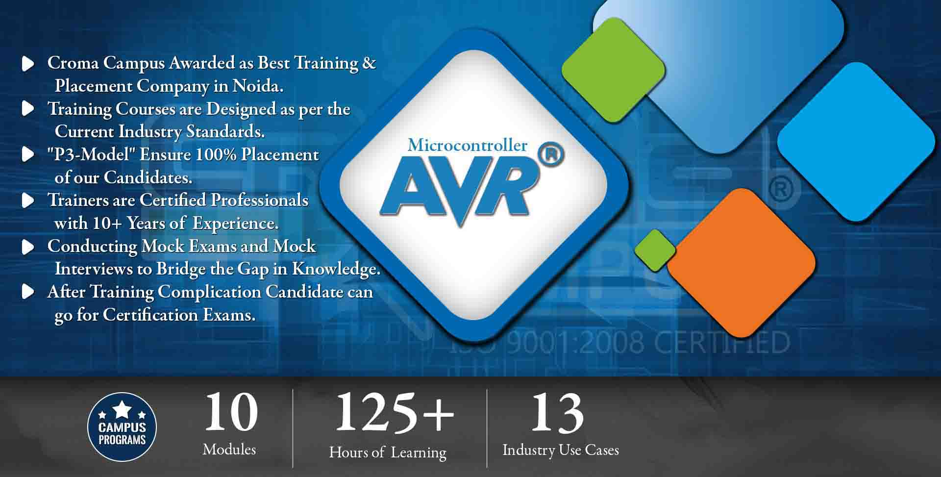 AVR Microcontroller Training in Gurgaon- Croma Campus
