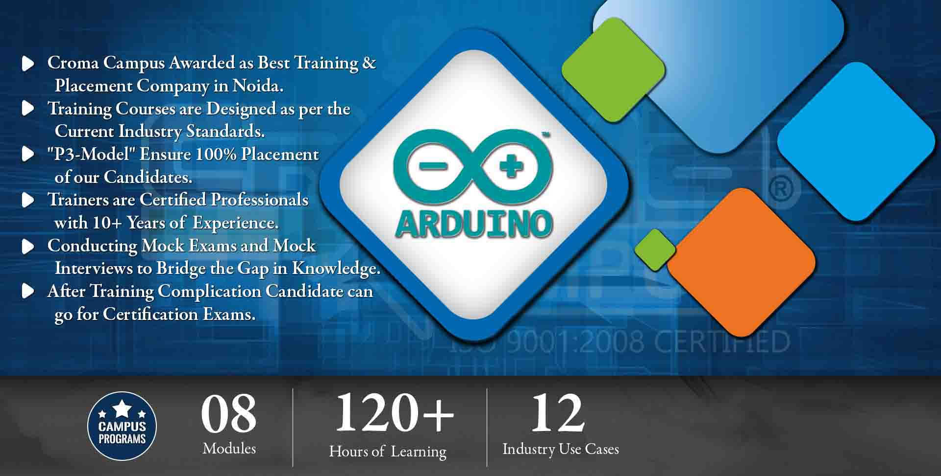 Arduino Training in Delhi NCR- Croma Campus