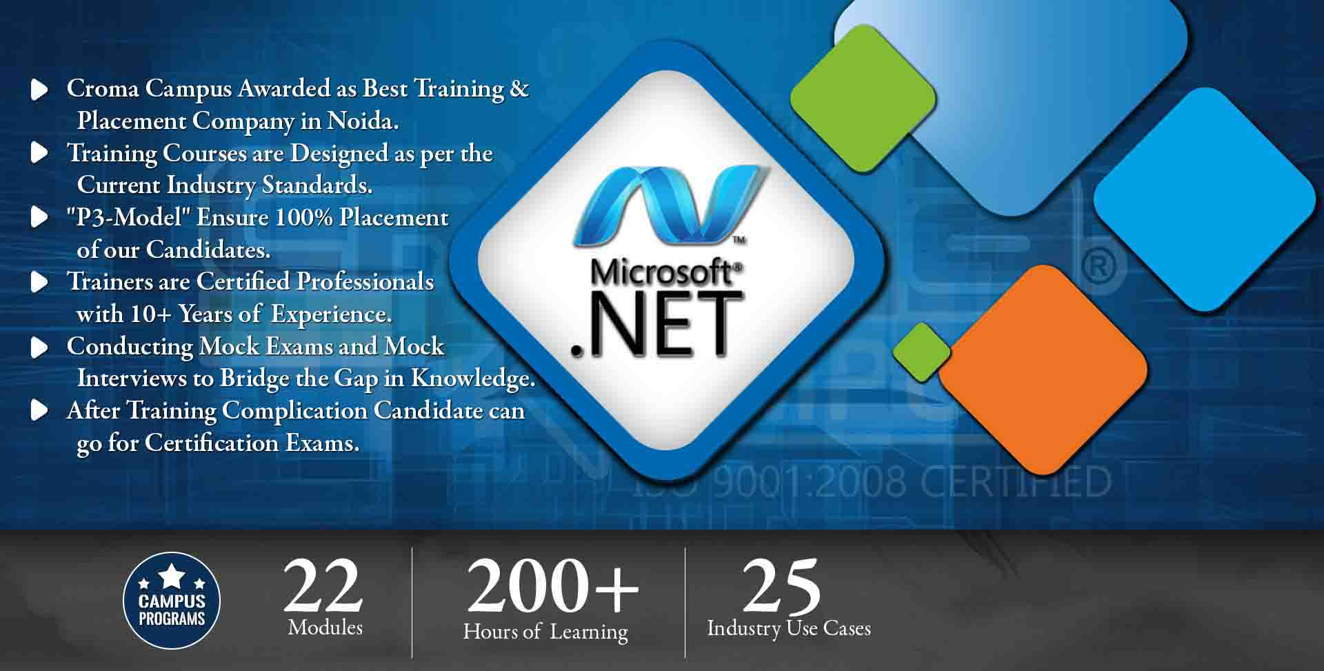 Dot Net Training in Delhi NCR- Croma Campus