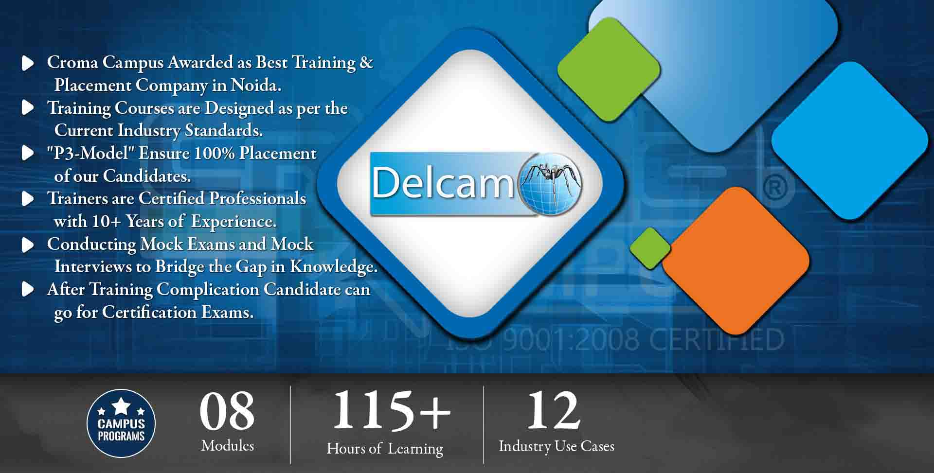 Delcam Training in Noida- Croma Campus