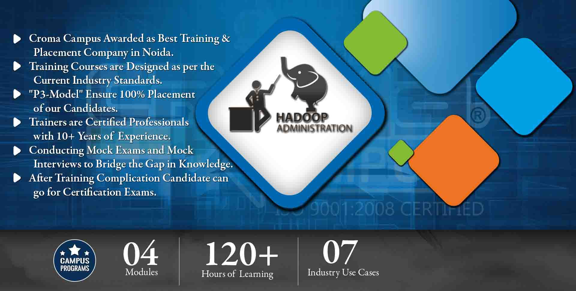 Hadoop Administration Training in Delhi NCR- Croma Campus