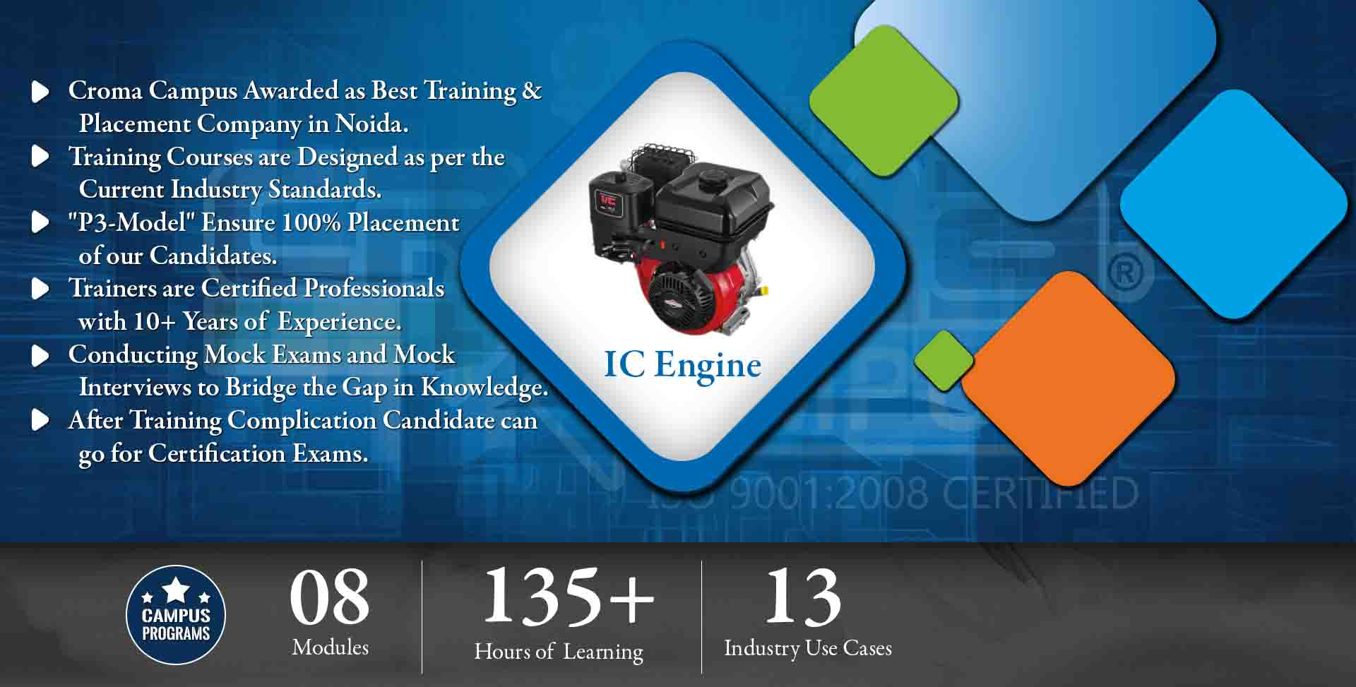 IC Engine Training in Noida- Croma Campus