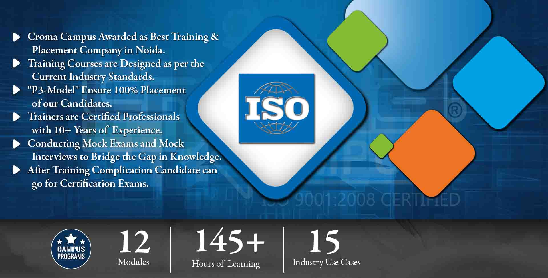 ISO Training in Delhi NCR- Croma Campus