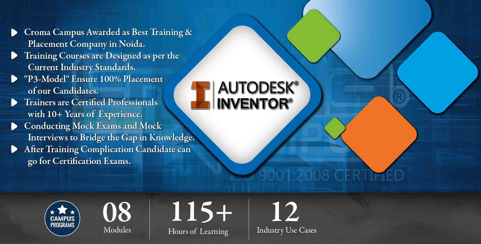 Inventor Training in Gurgaon- Croma Campus