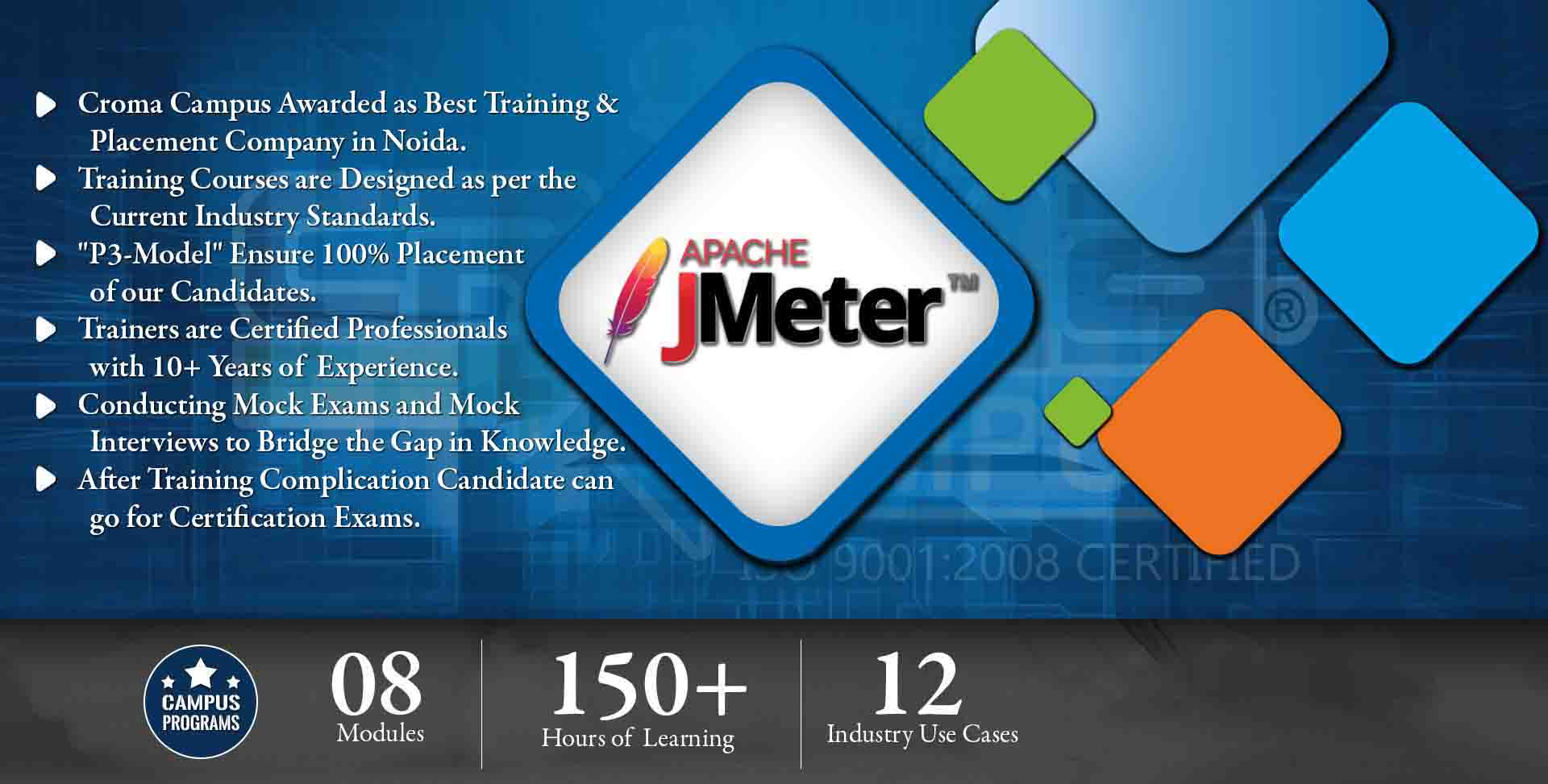 Jmeter Training in Gurgaon- Croma Campus