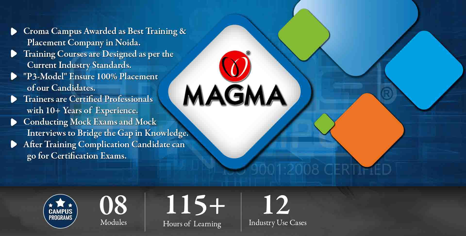 Magma Training in Noida- Croma Campus