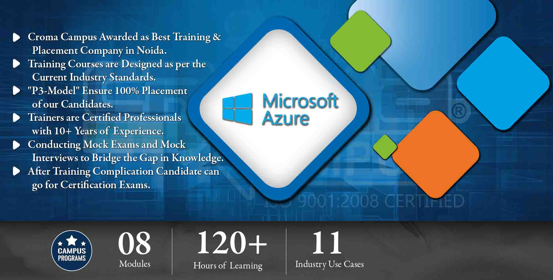 Microsoft azure training in noida best microsoft azure training microsoft azure training in noida croma campus view sample certificate xflitez Gallery