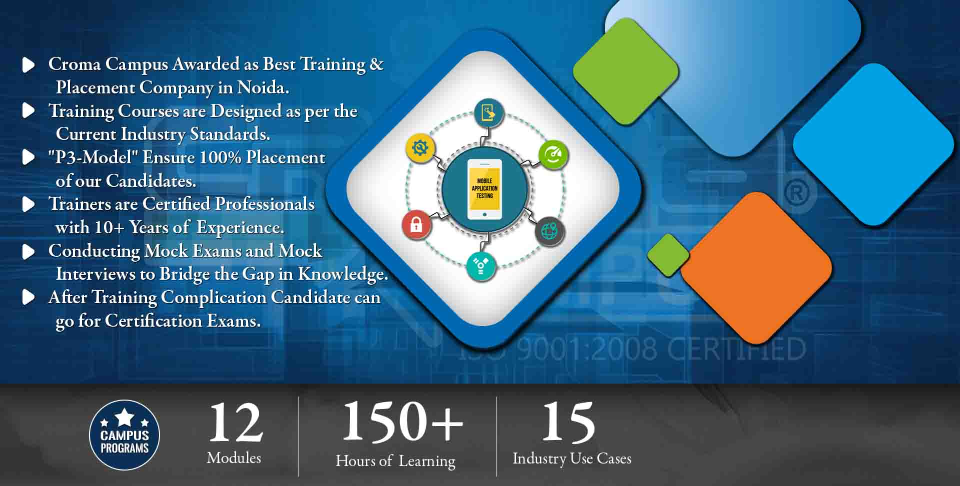 Mobile Application Testing Training in Delhi NCR- Croma Campus