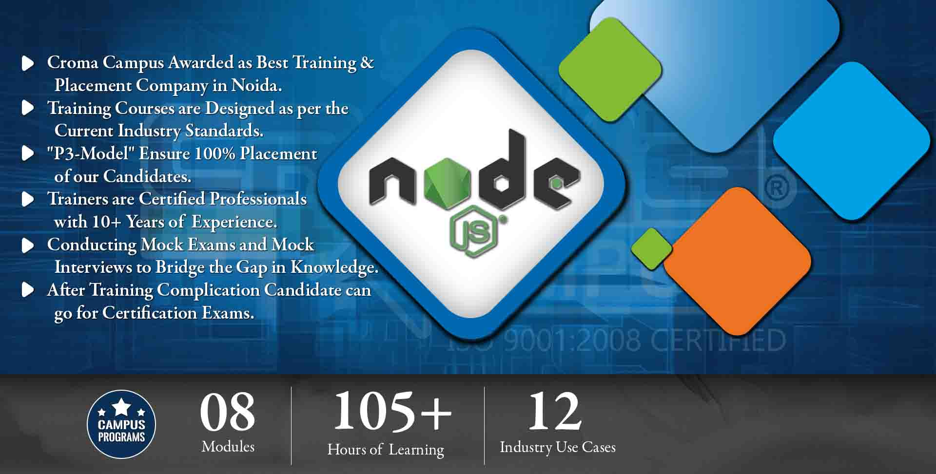 Node js training in gurgaon node js training institute in gurgaon view sample certificate xflitez Image collections
