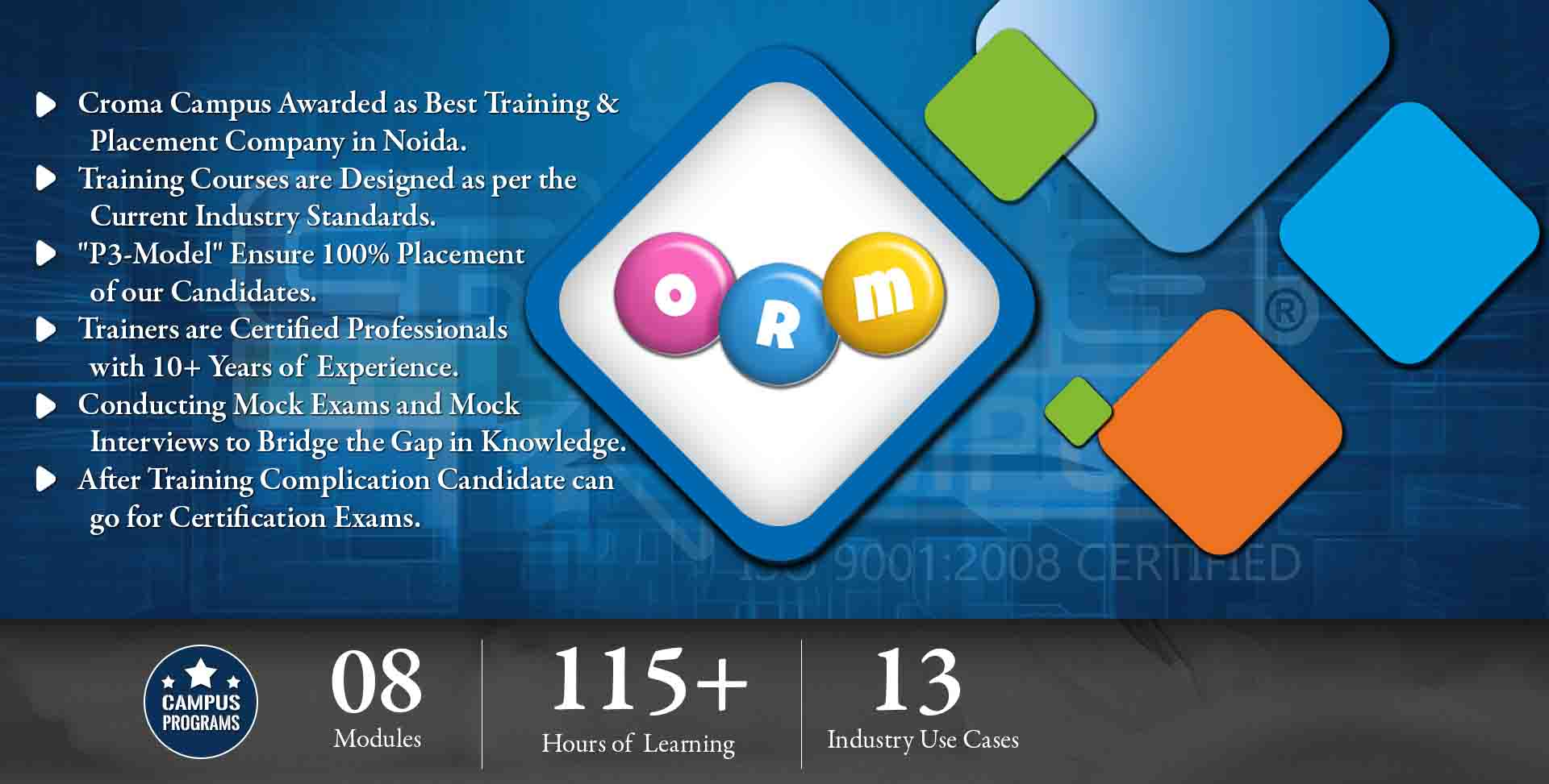 ORM Training in Noida- Croma Campus