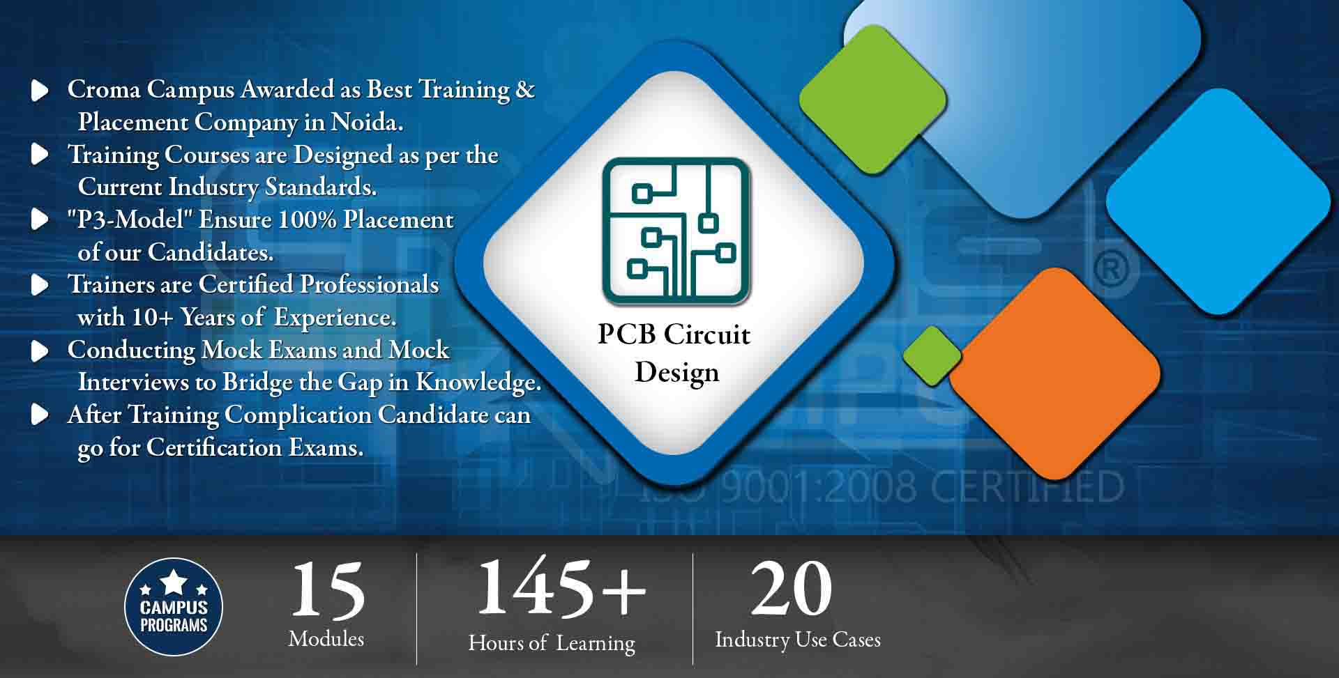 PCB Circuit Design Training in Gurgaon- Croma Campus