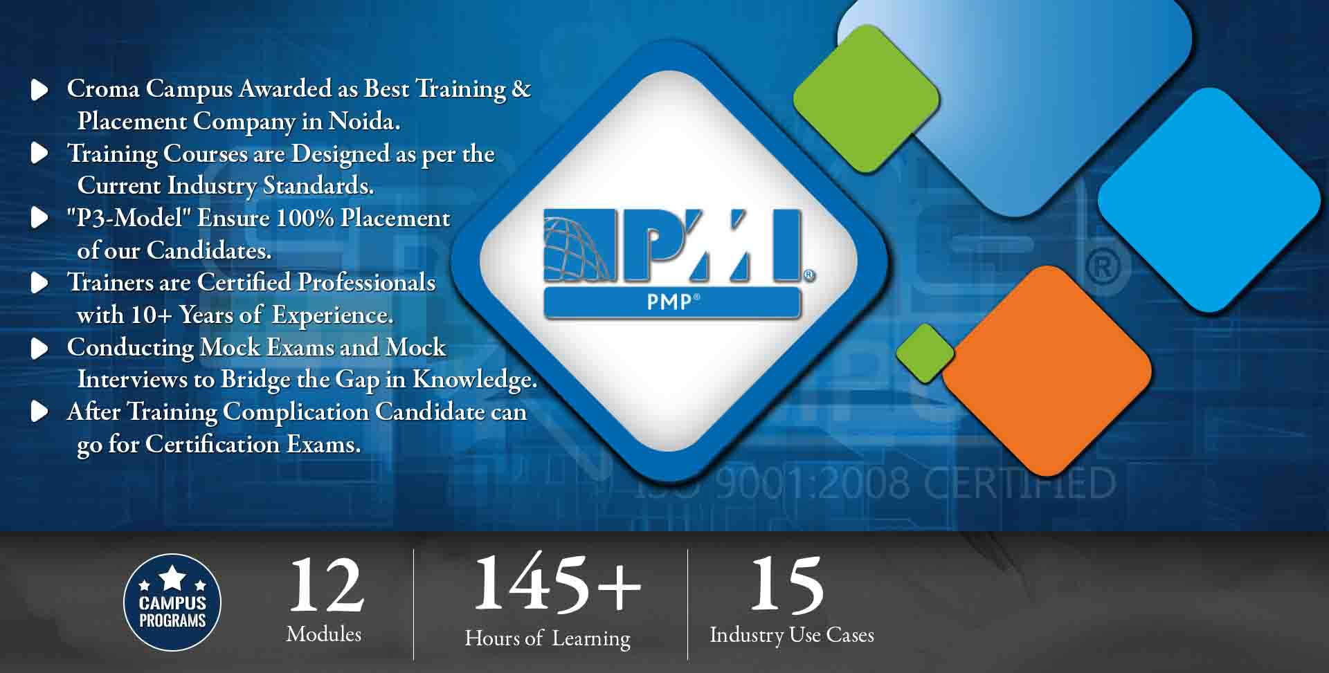 PMP Training in Noida- Croma Campus