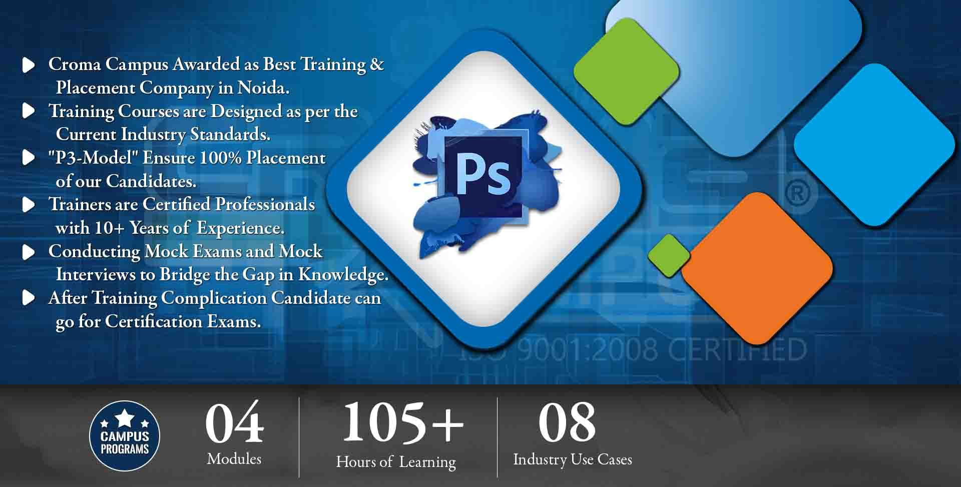 Photoshop Training in Delhi NCR- Croma Campus