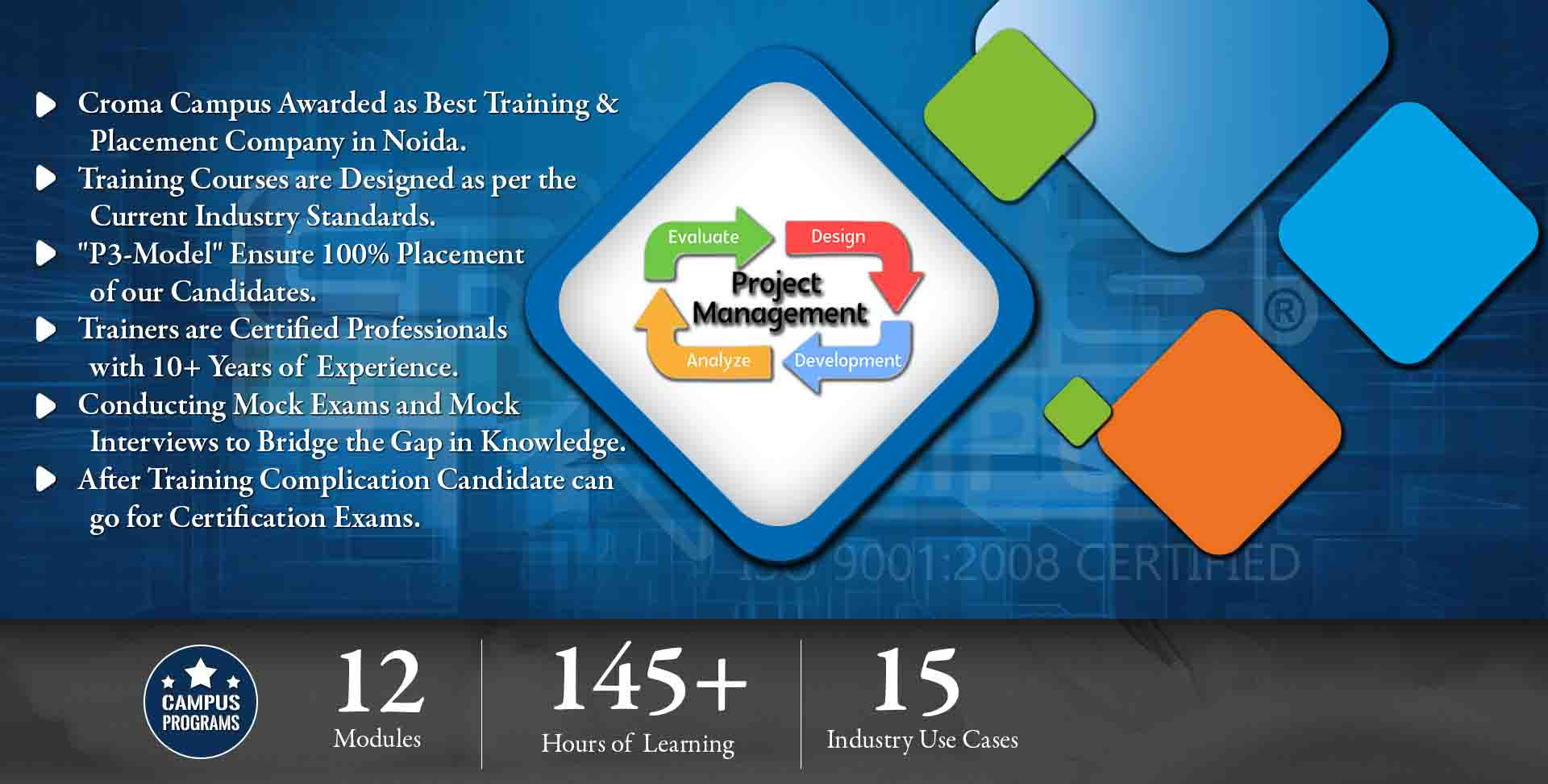 Project Management Training in Delhi NCR- Croma Campus