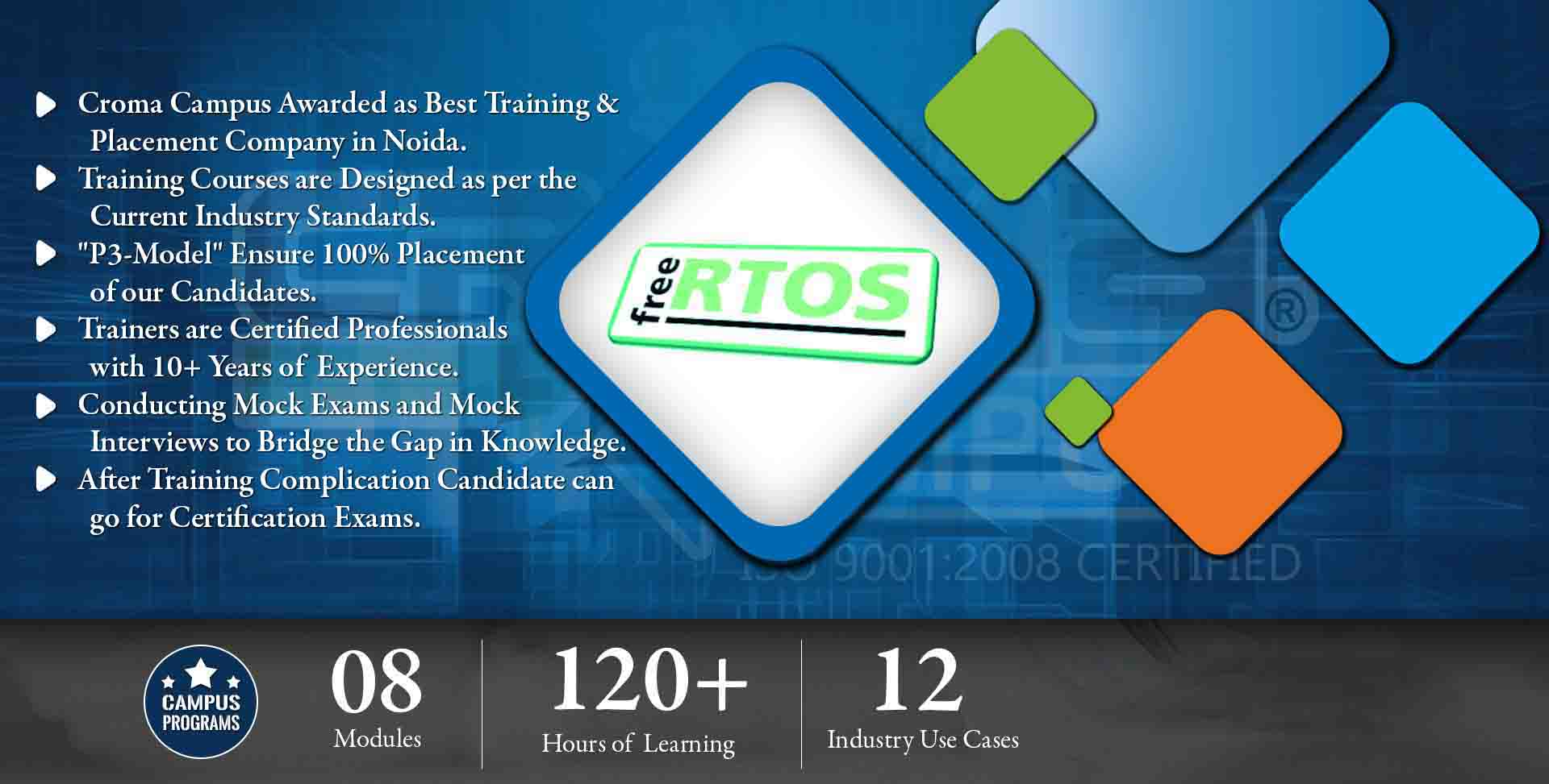 RTOS Training in Delhi NCR- Croma Campus