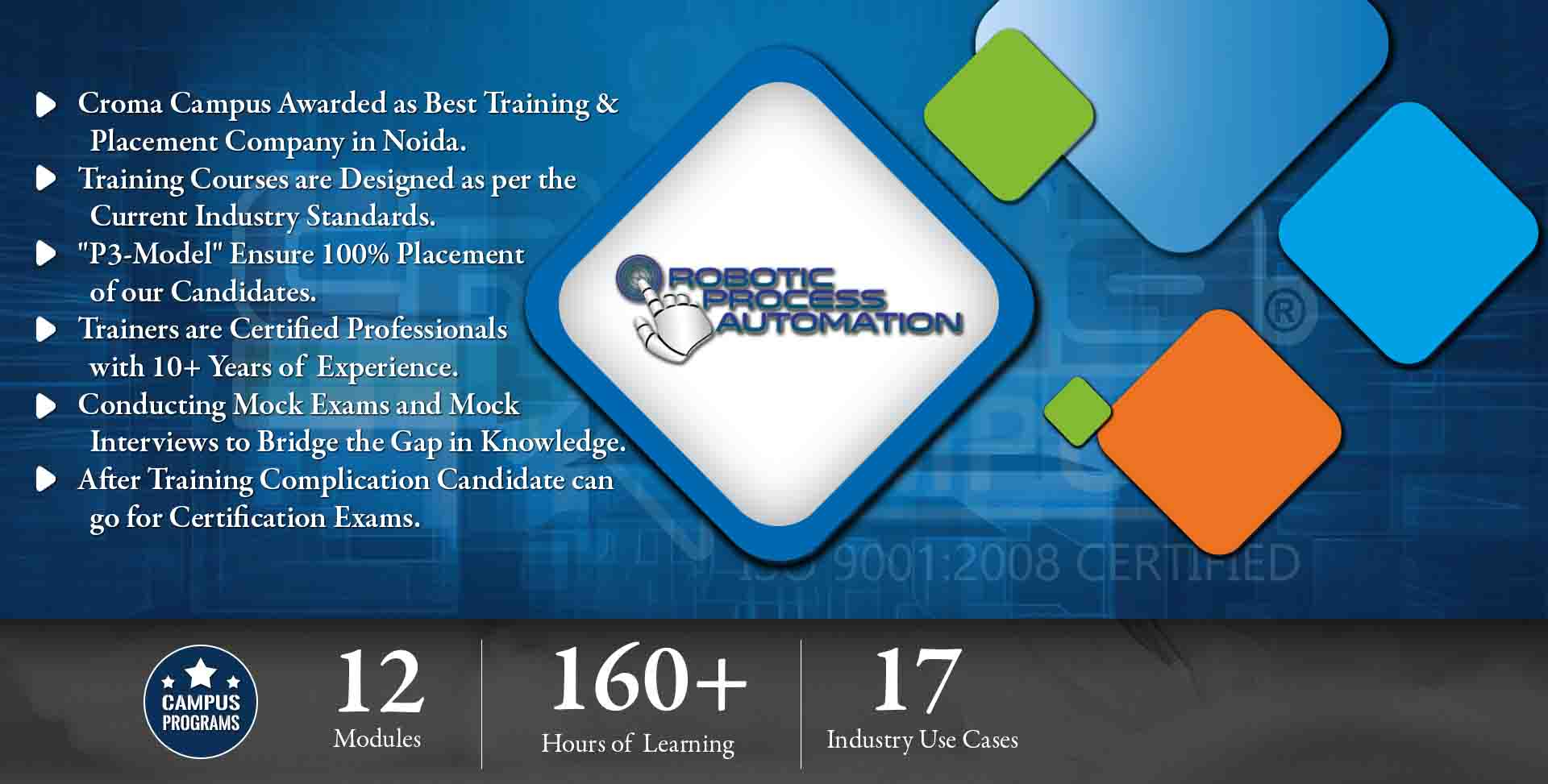 RPA Training in Delhi NCR- Croma Campus