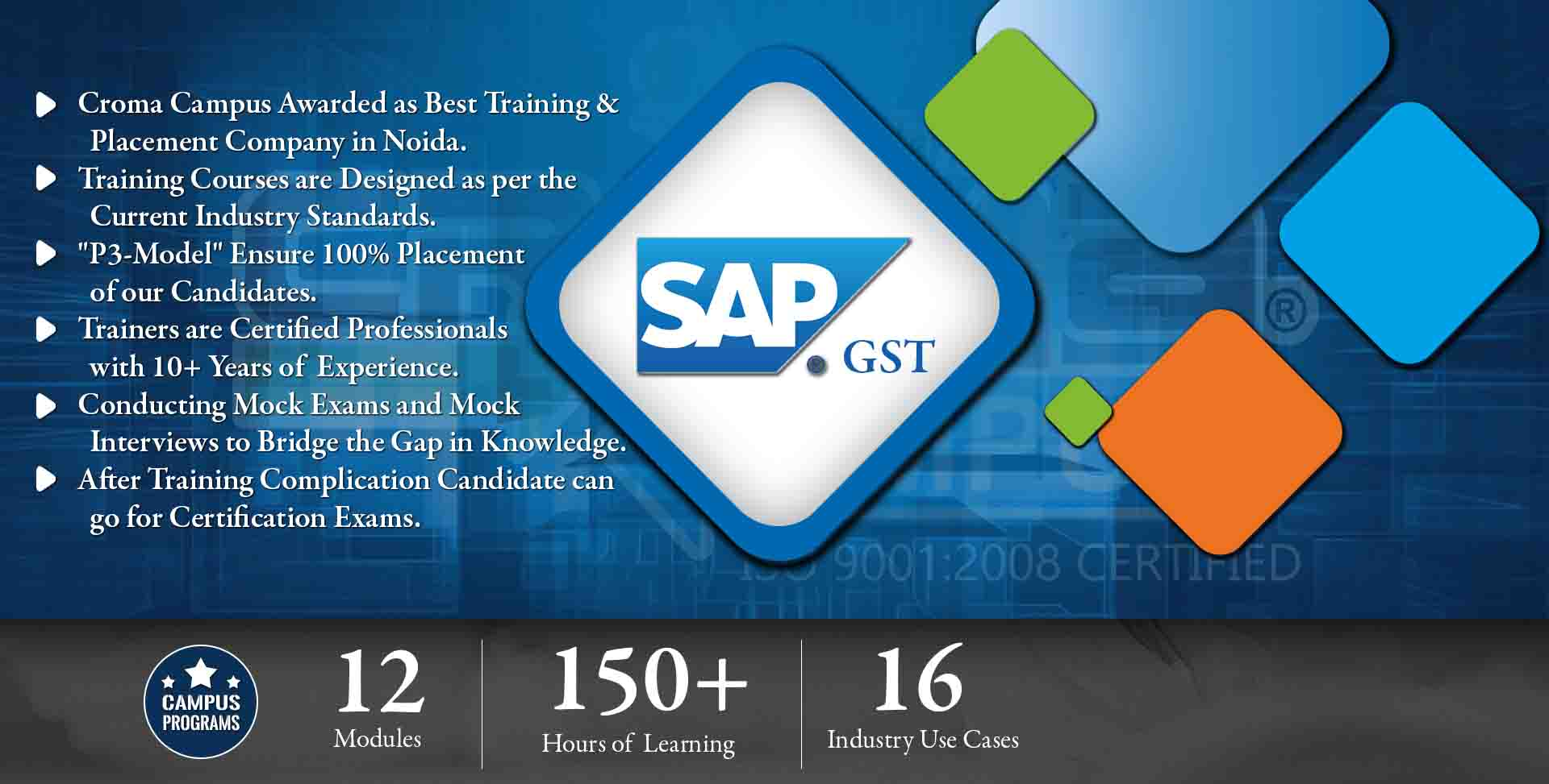 SAP GST Training in Gurgaon- Croma Campus