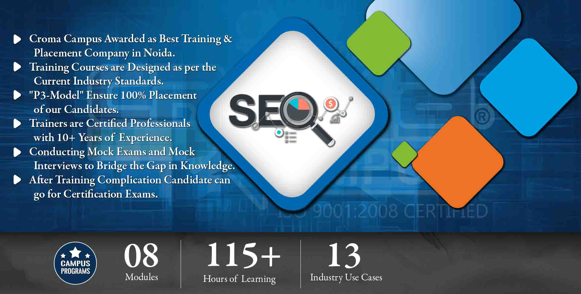 SEO Training in Delhi NCR- Croma Campus