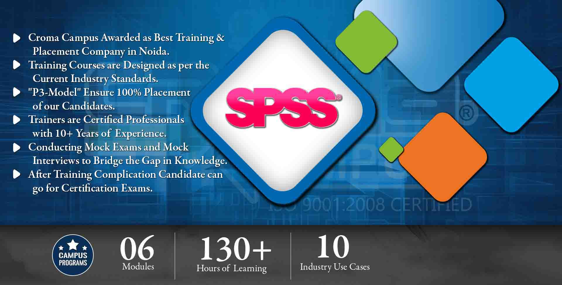 SPSS Training in Noida- Croma Campus