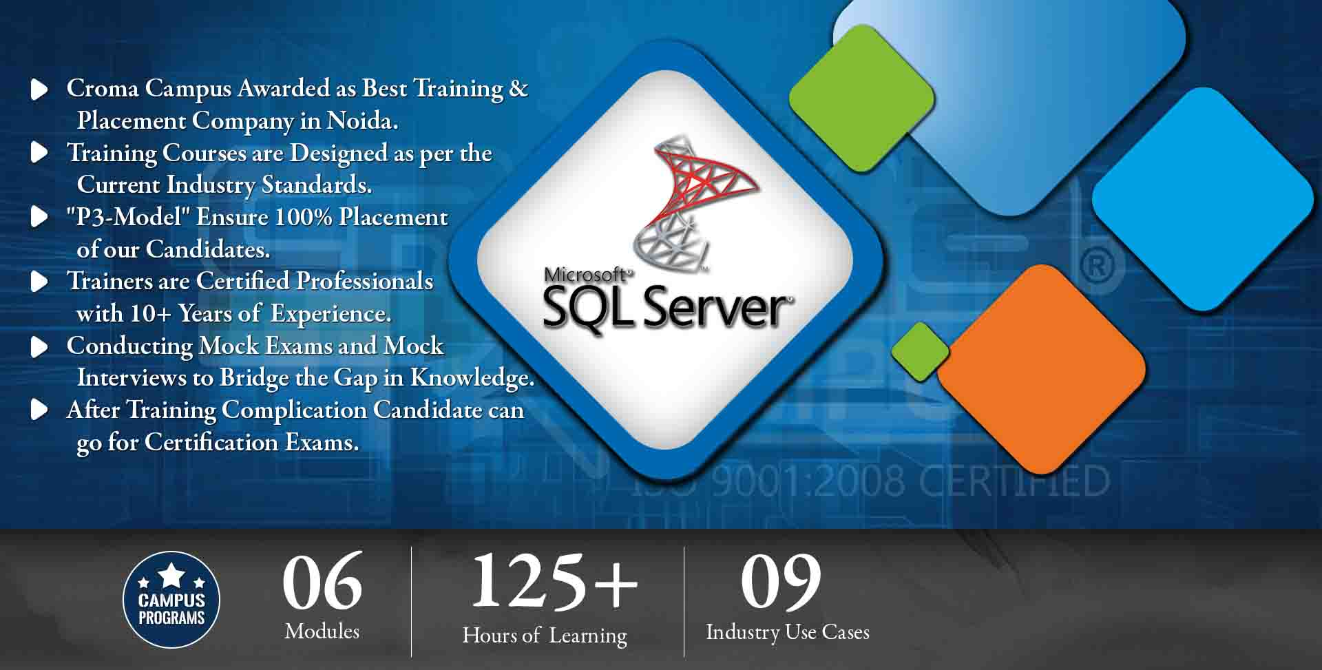 SQL Server Training in Noida- Croma Campus