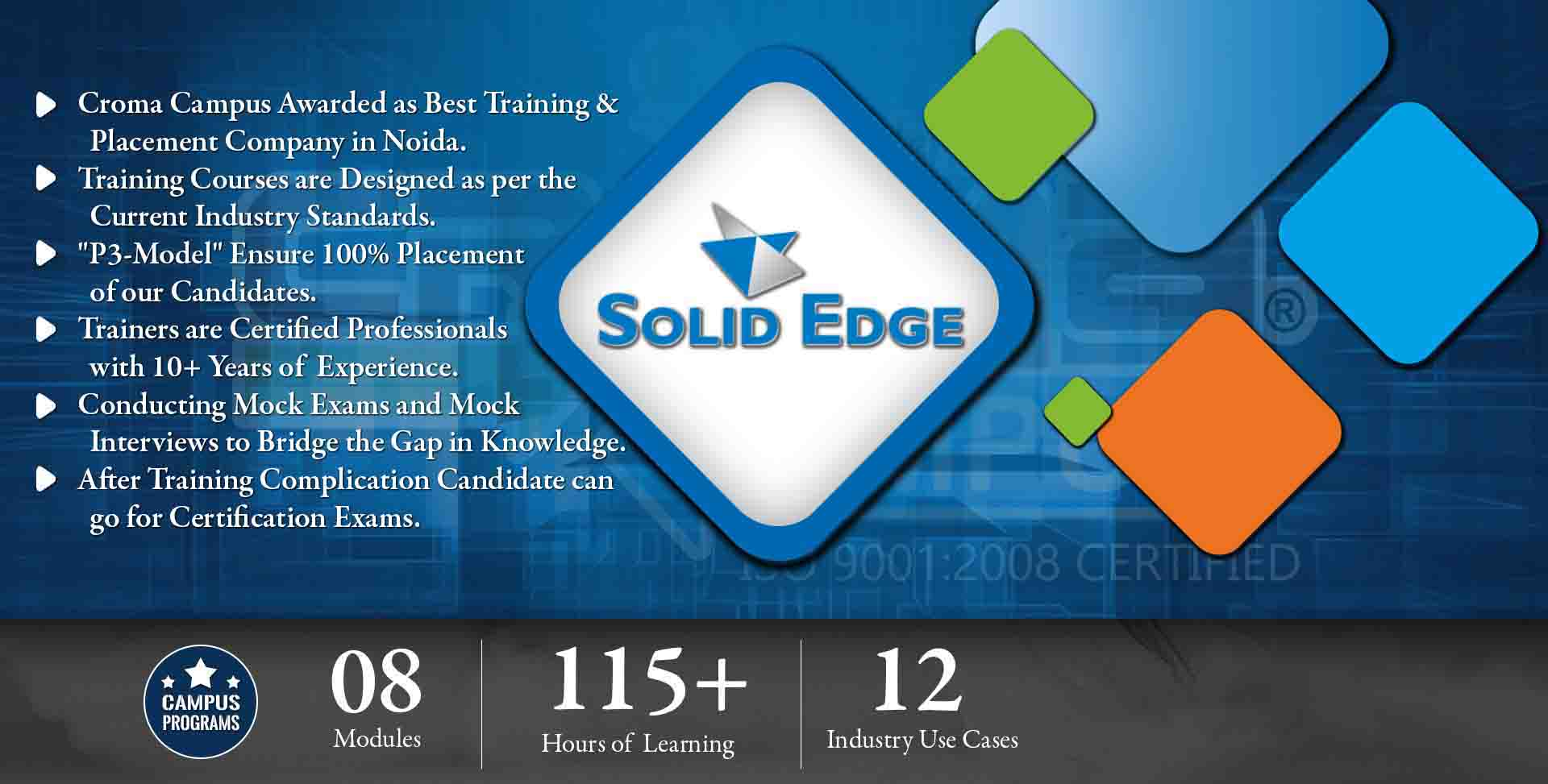 Solid Edge Training in Delhi NCR- Croma Campus