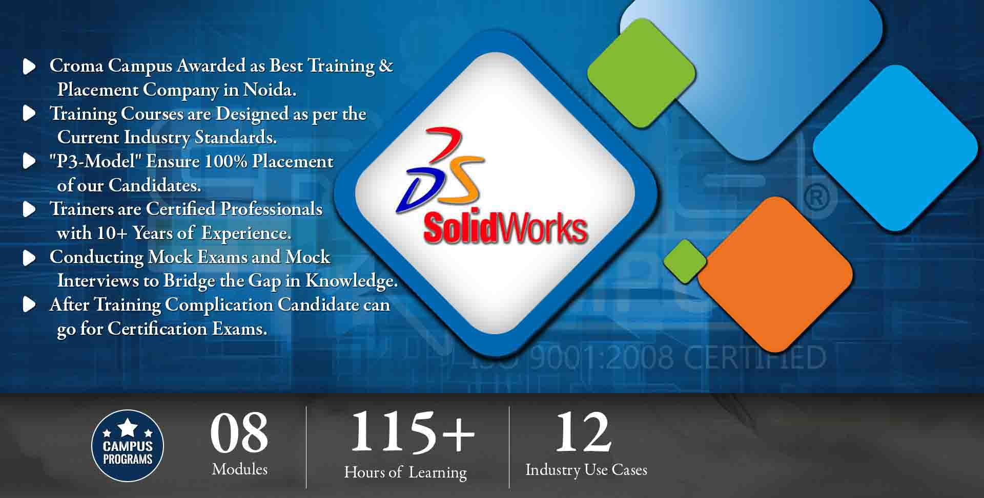 Solidworks Training in Delhi NCR- Croma Campus