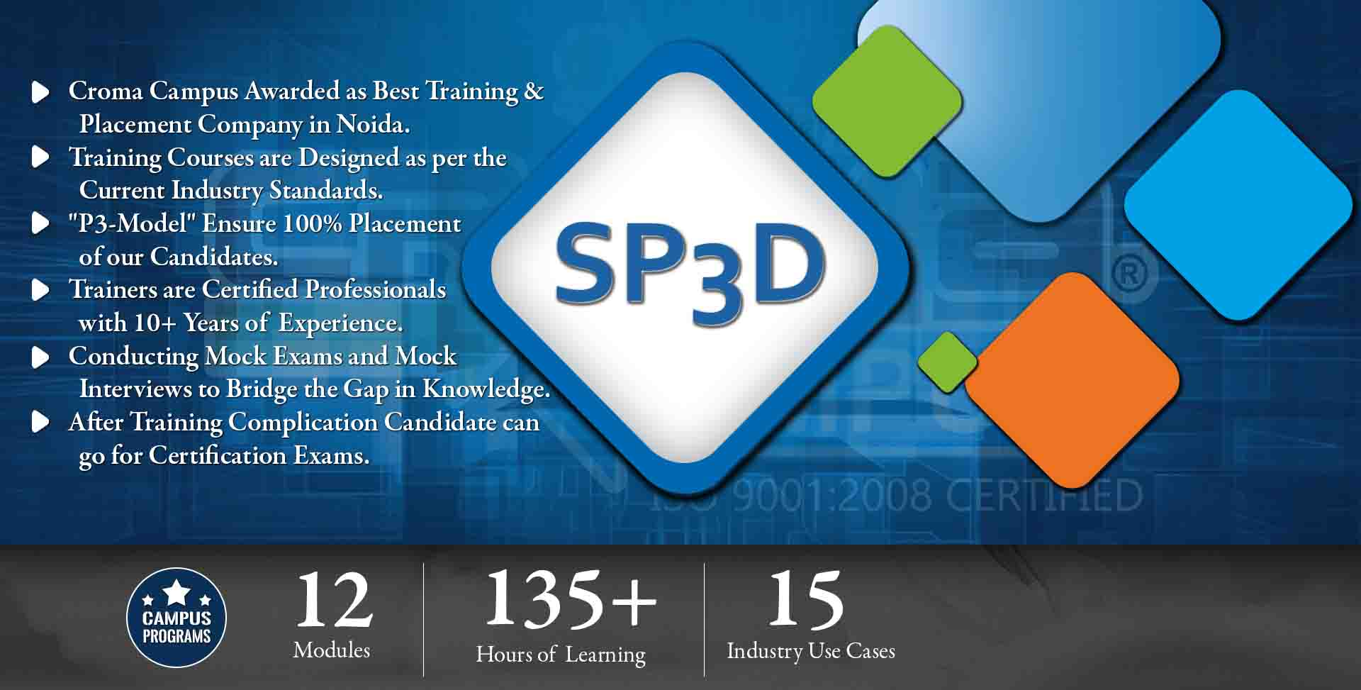 SP3D Training in Delhi NCR NCR- Croma Campus