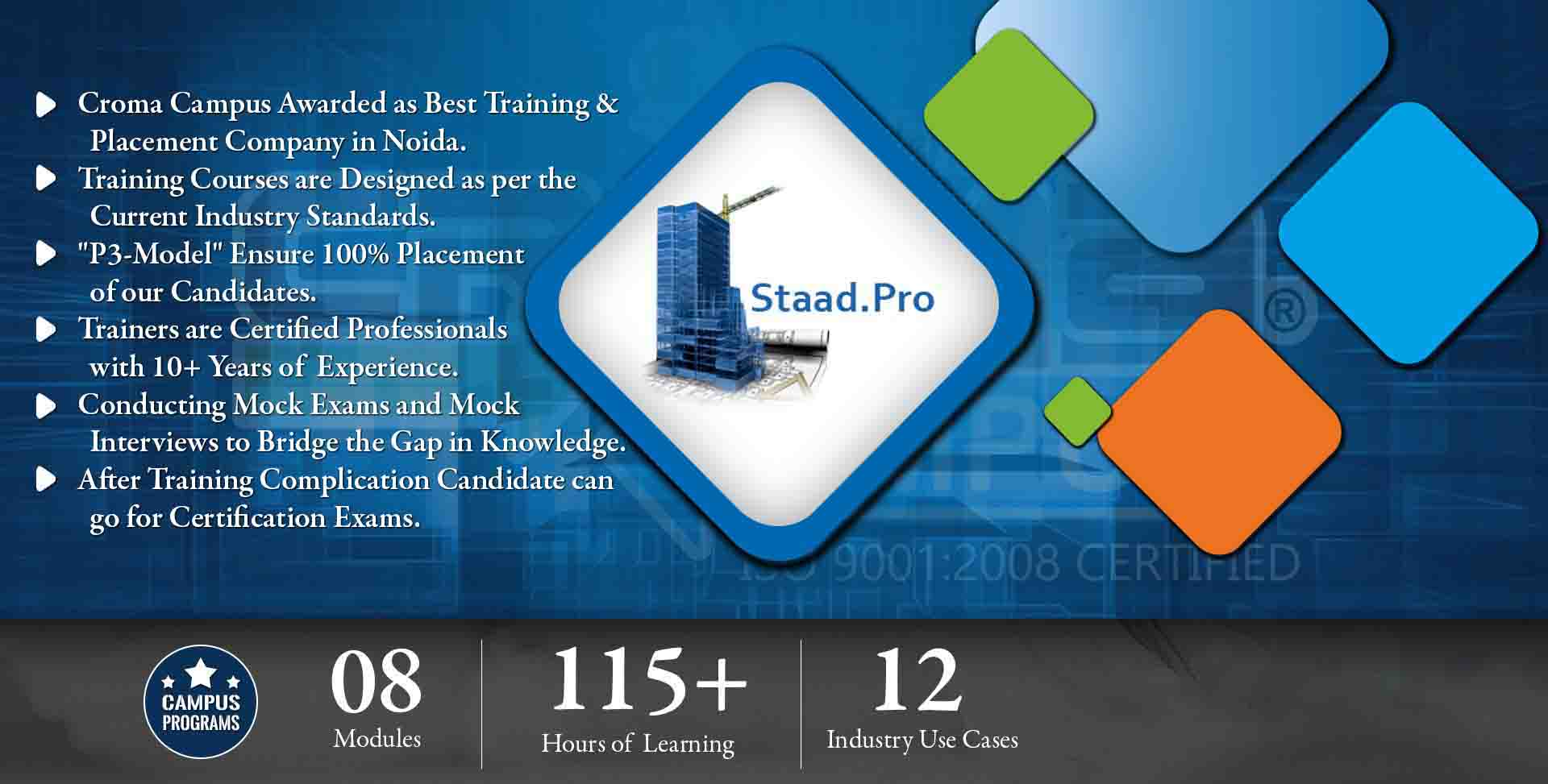 Staad Pro Training in Gurgaon- Croma Campus