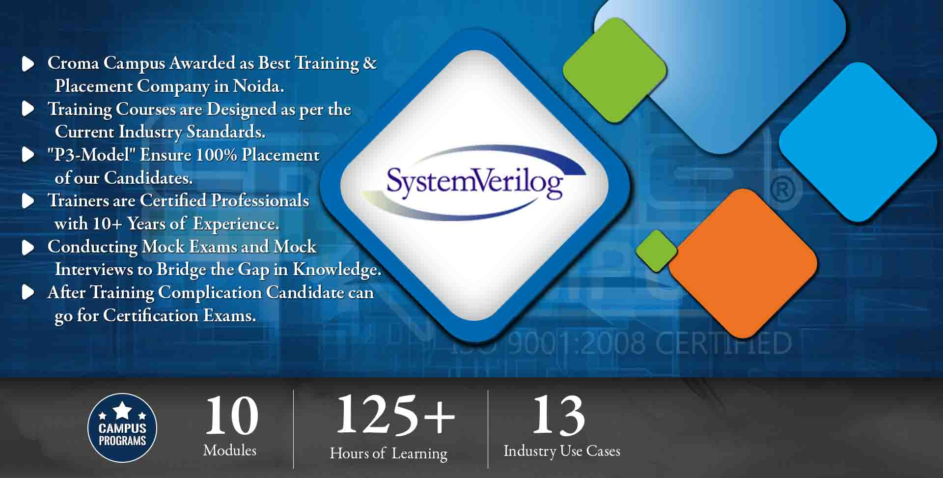 System Verilog Training in Noida- Croma Campus