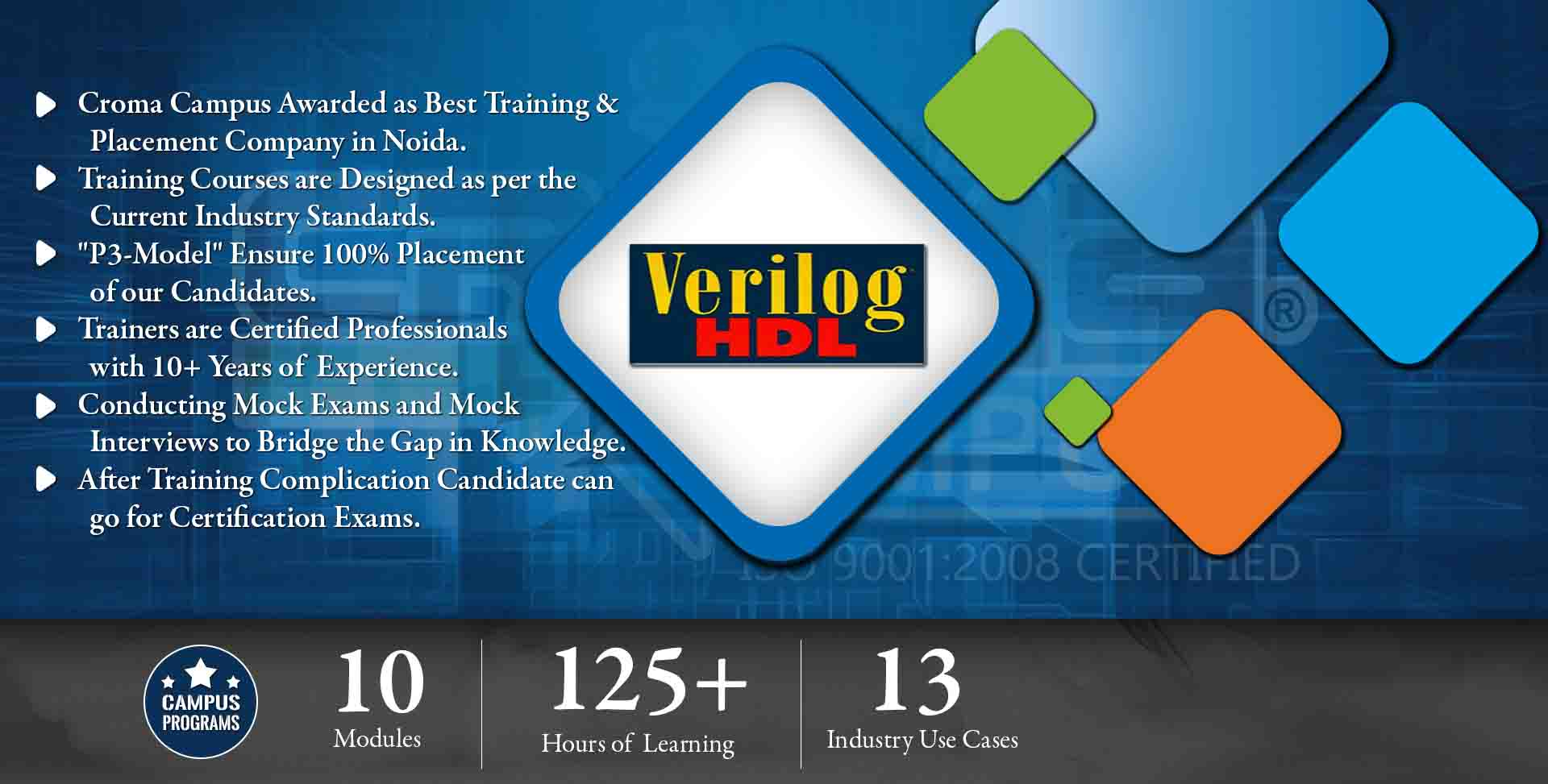 Verilog HDL Training in Delhi NCR- Croma Campus