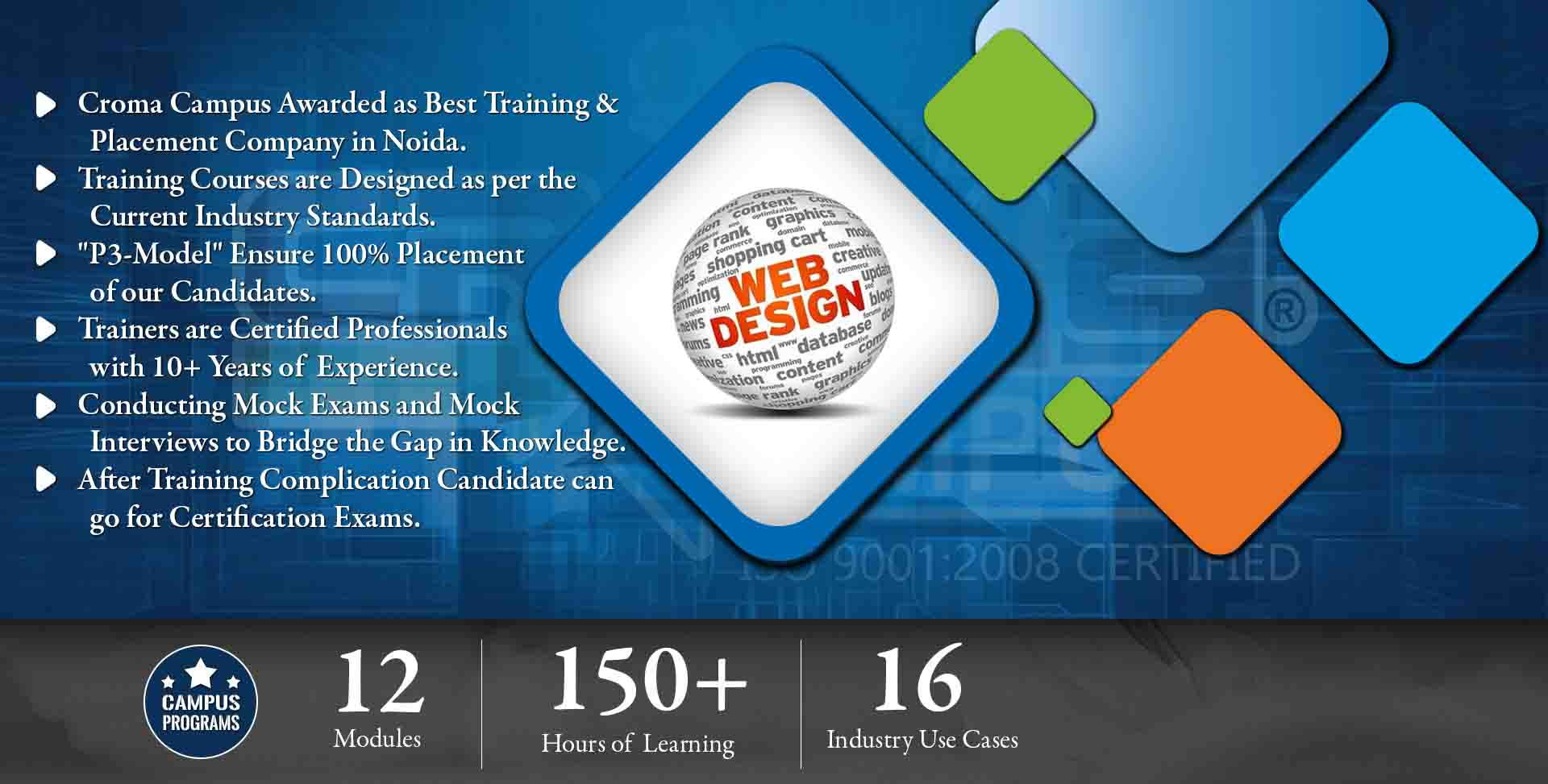 Web Designing Training in Noida- Croma Campus